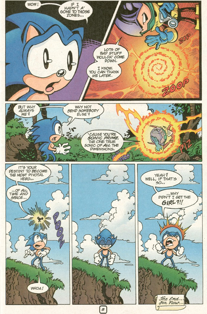 Read online Sonic Super Special comic -  Issue #8 - Giant special - 11