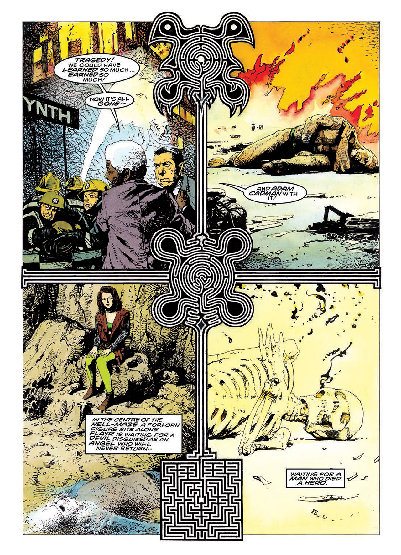 Read online Mazeworld comic -  Issue # TPB - 186