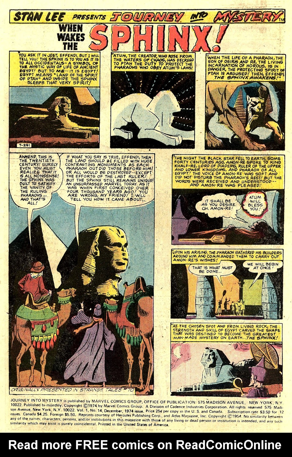 Journey Into Mystery (1972) issue 14 - Page 3