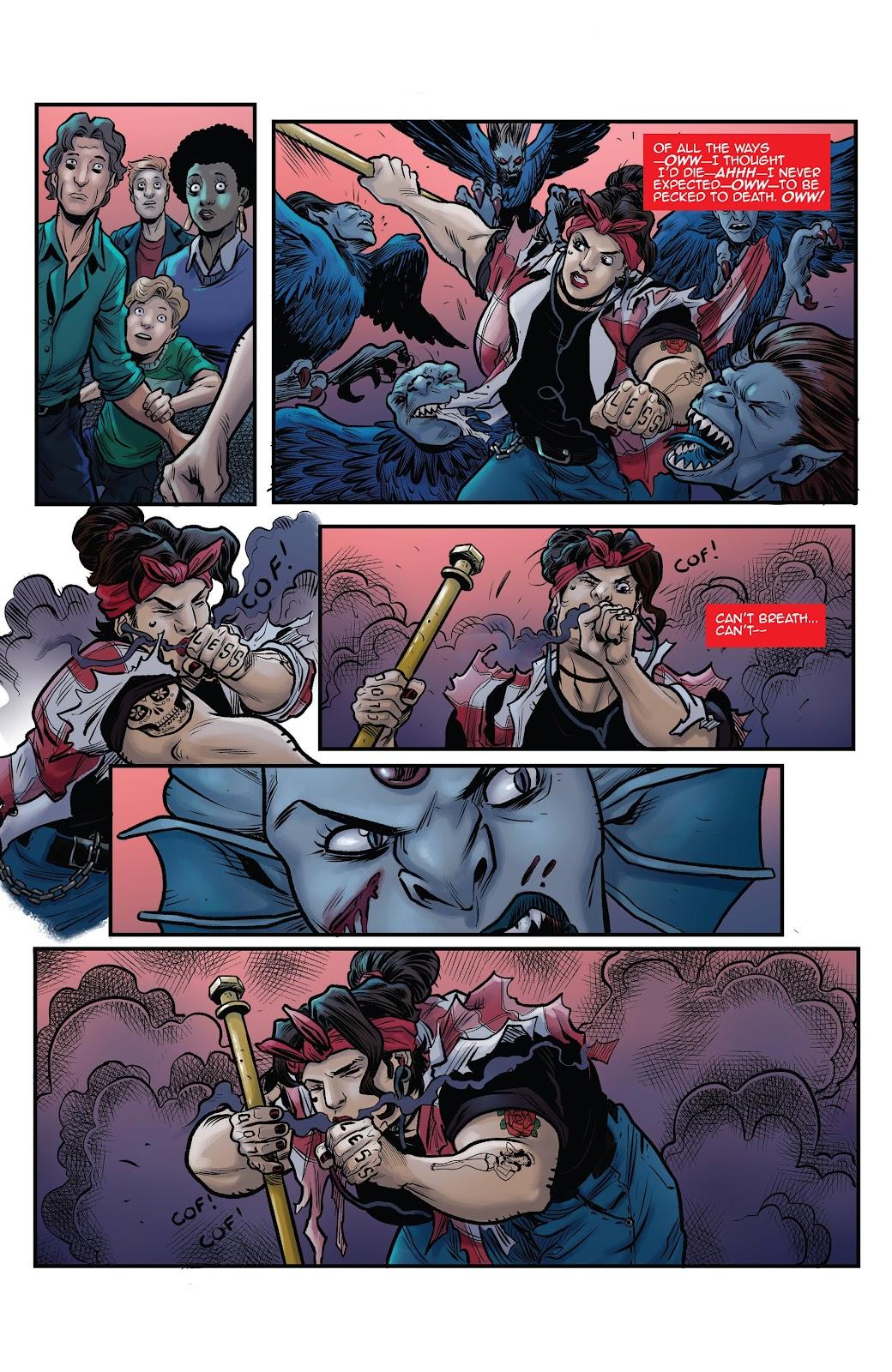 Read online Black Betty comic -  Issue #8 - 14