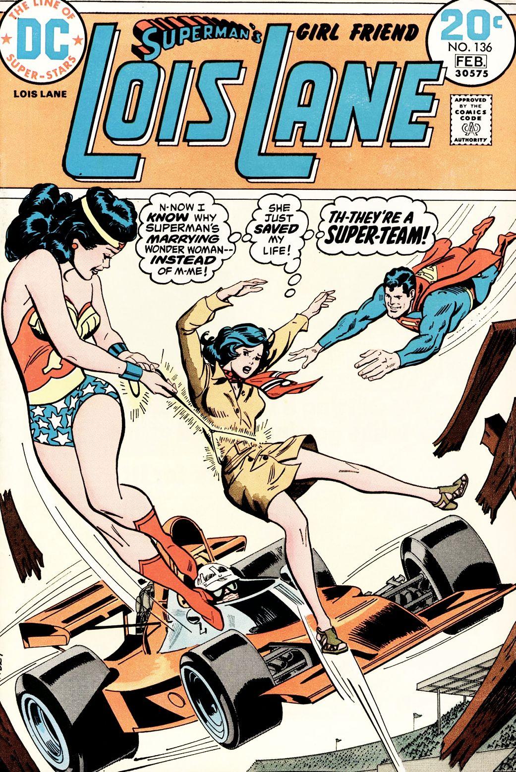 Supermans Girl Friend, Lois Lane 136 Page 1