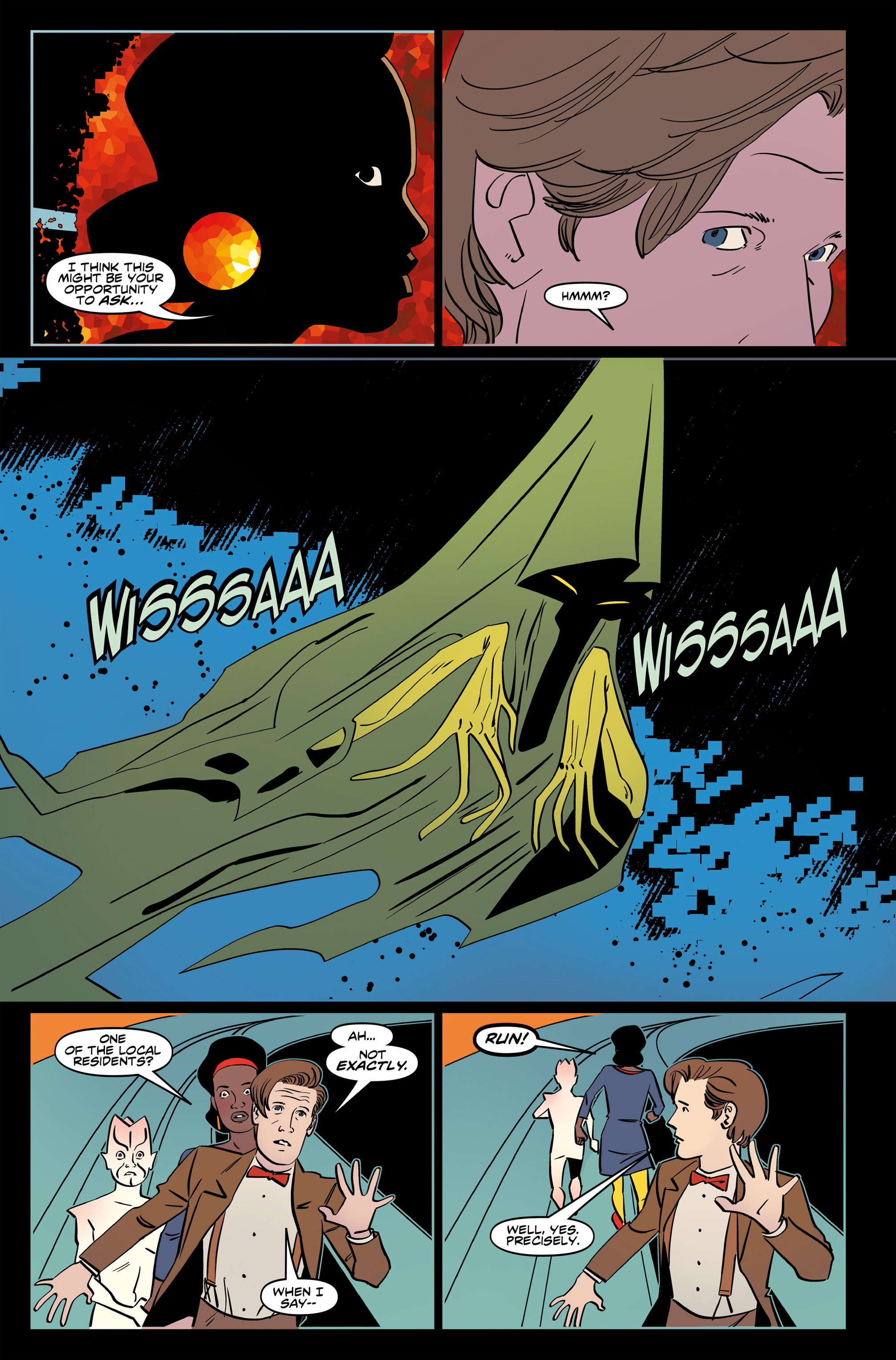 Read online Doctor Who: The Eleventh Doctor Year Three comic -  Issue #6 - 16