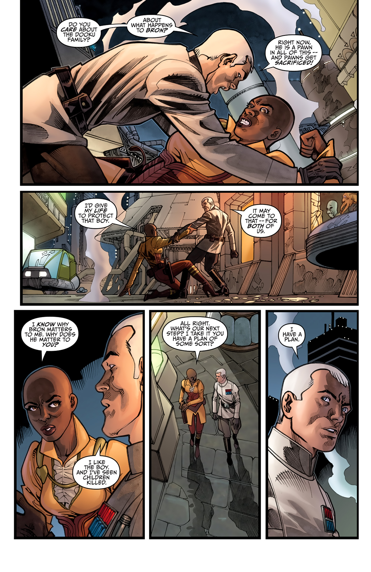 Read online Star Wars: Agent Of The Empire - Hard Targets comic -  Issue #4 - 7