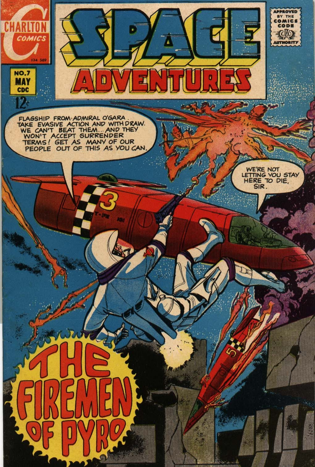 Space Adventures (1968) issue 7 - Page 1
