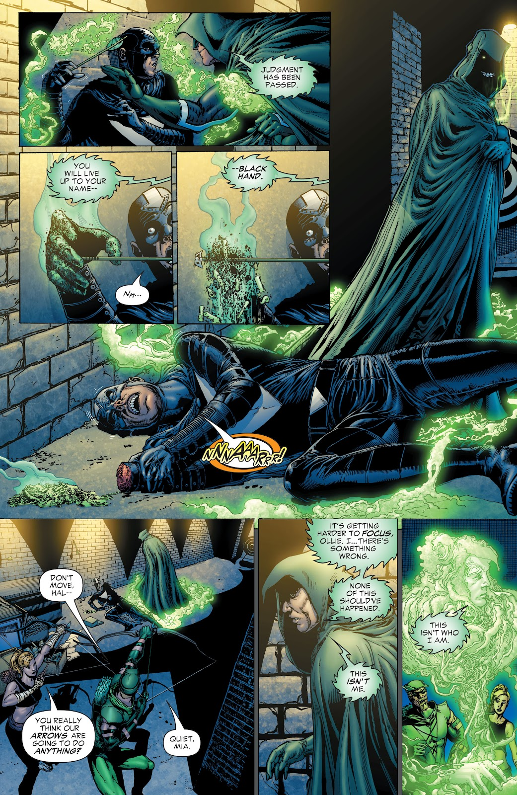 Read online Green Lantern by Geoff Johns comic -  Issue # TPB 1 (Part 1) - 27
