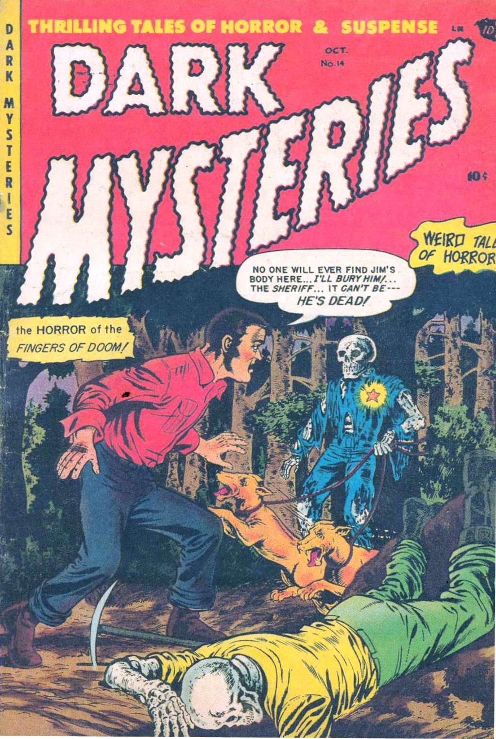 Dark Mysteries 14 Page 1