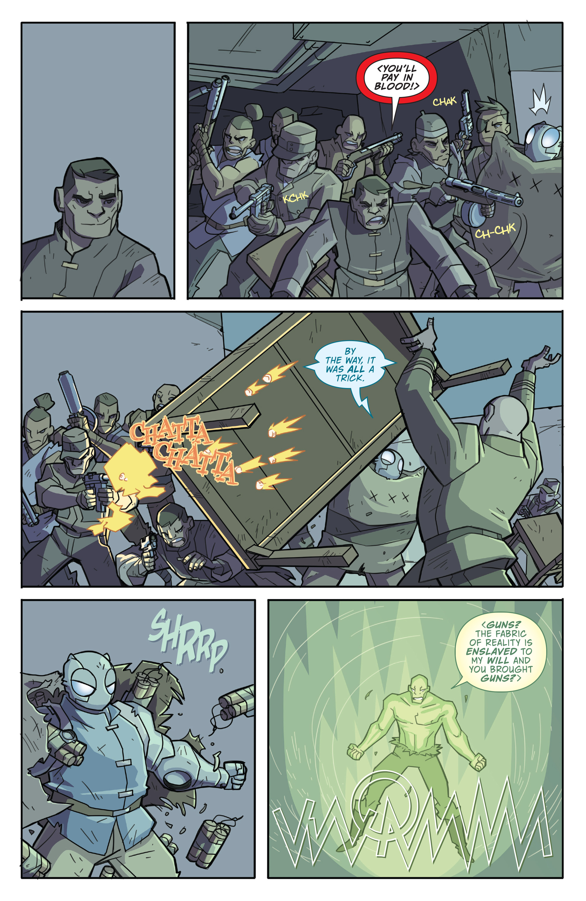 Read online Atomic Robo and the Temple of Od comic -  Issue #4 - 16