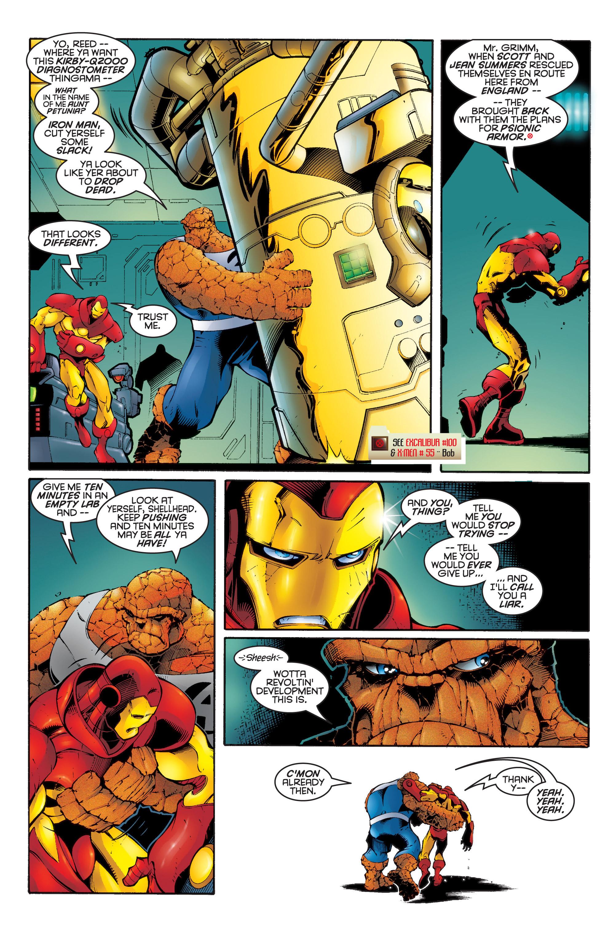 Read online Uncanny X-Men (1963) comic -  Issue #336 - 12