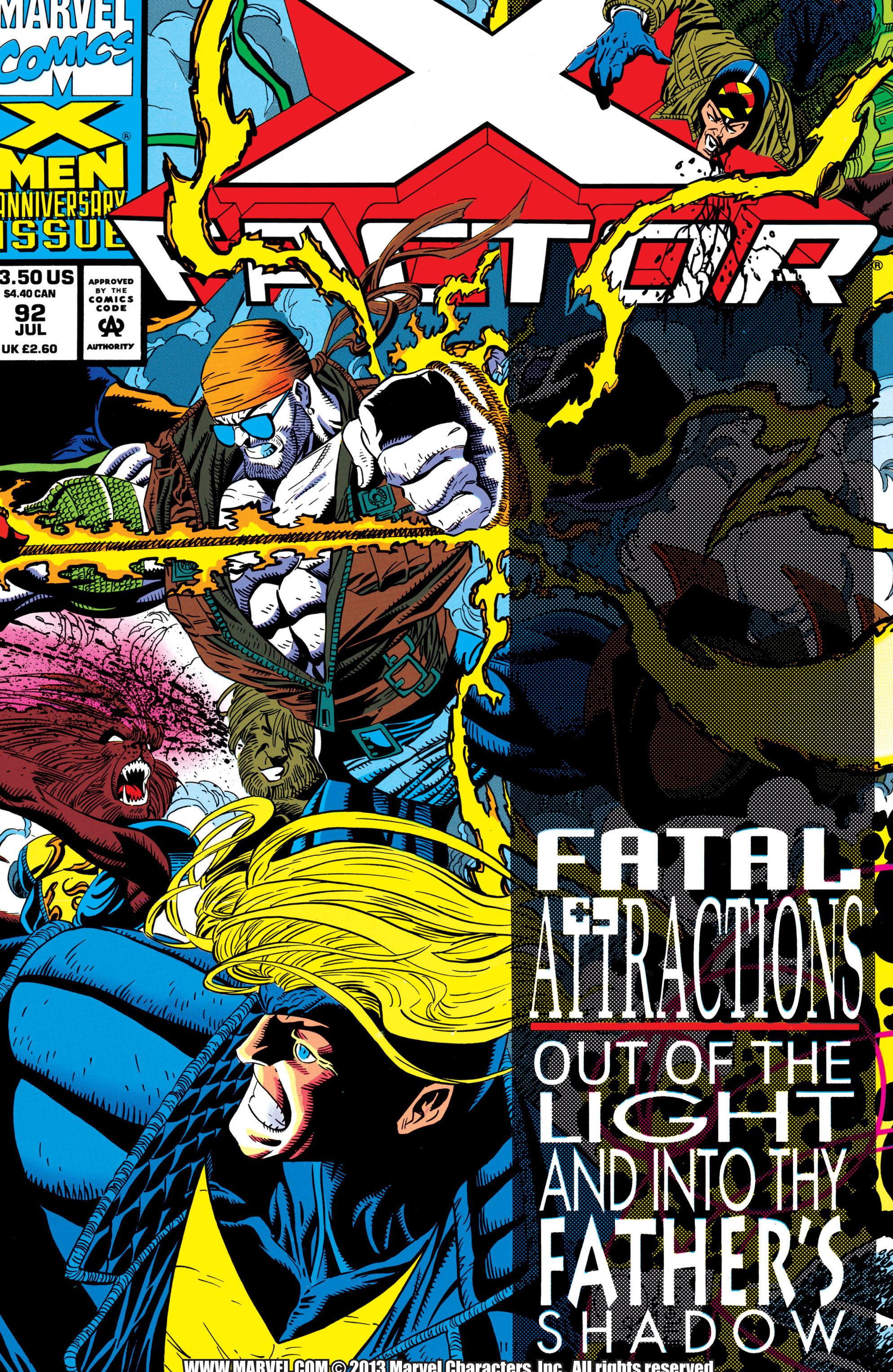 Read online X-Factor (1986) comic -  Issue #92 - 1