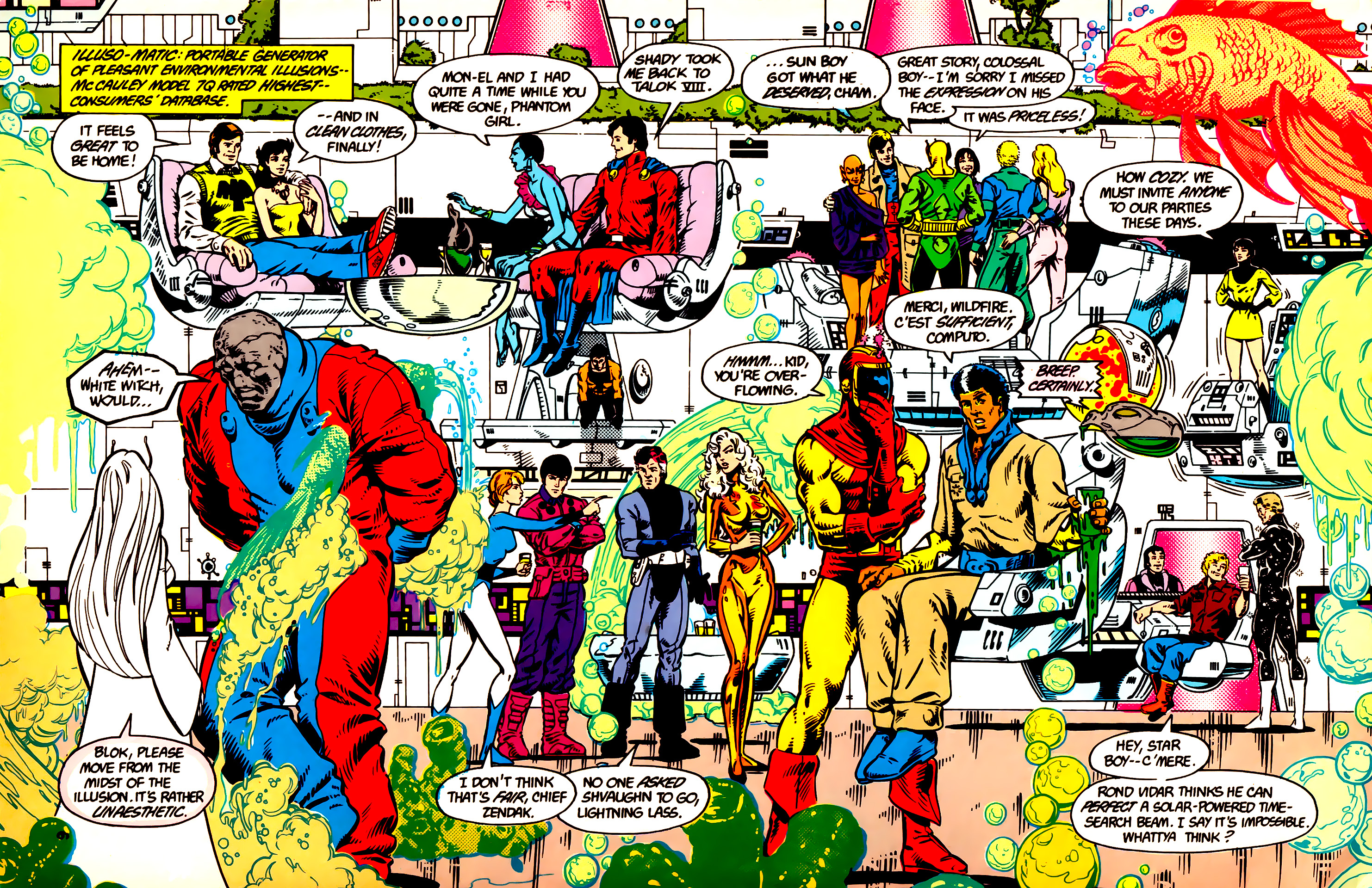 Legion of Super-Heroes (1984) 9 Page 7