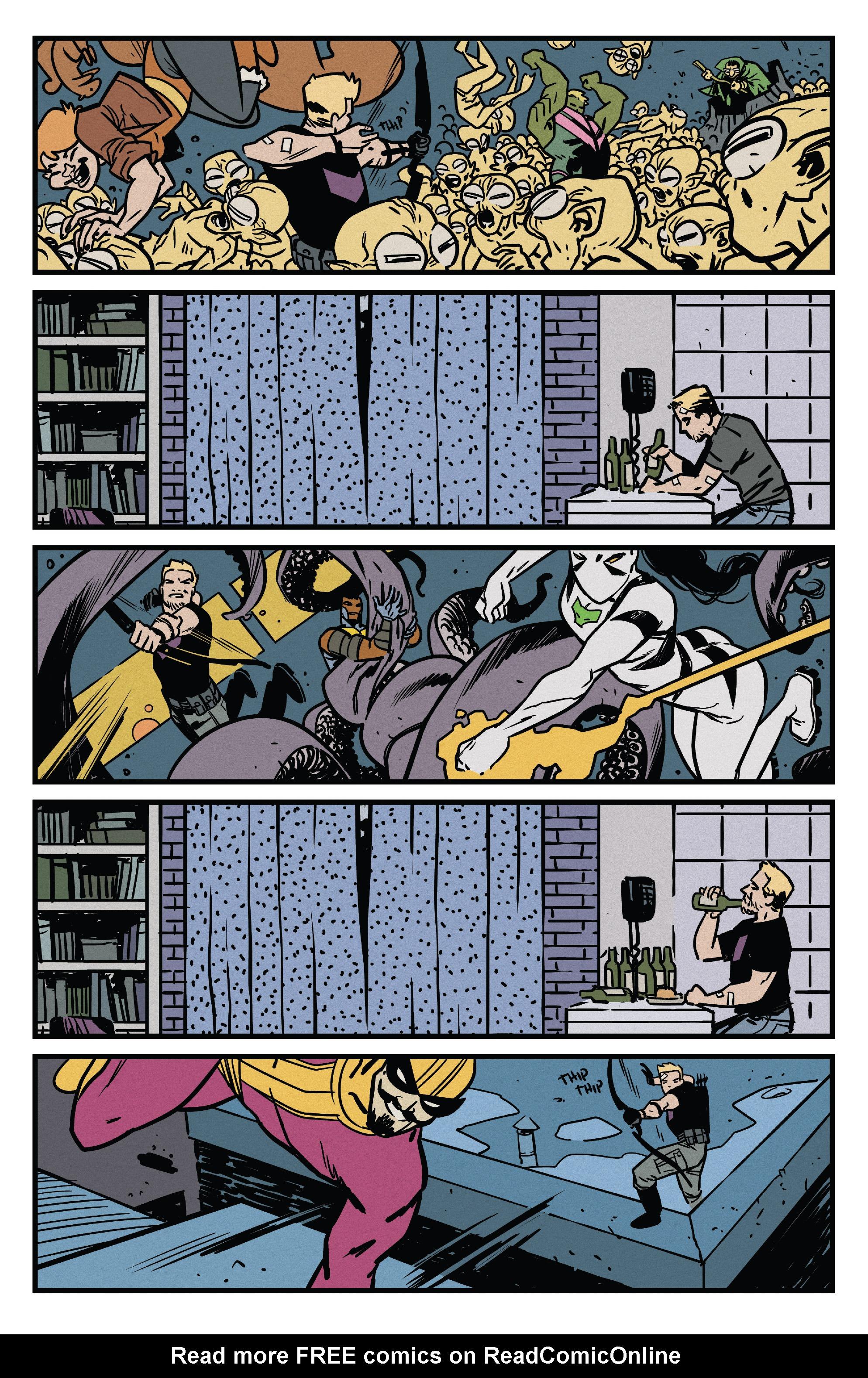 Read online All-New Hawkeye (2016) comic -  Issue #2 - 9