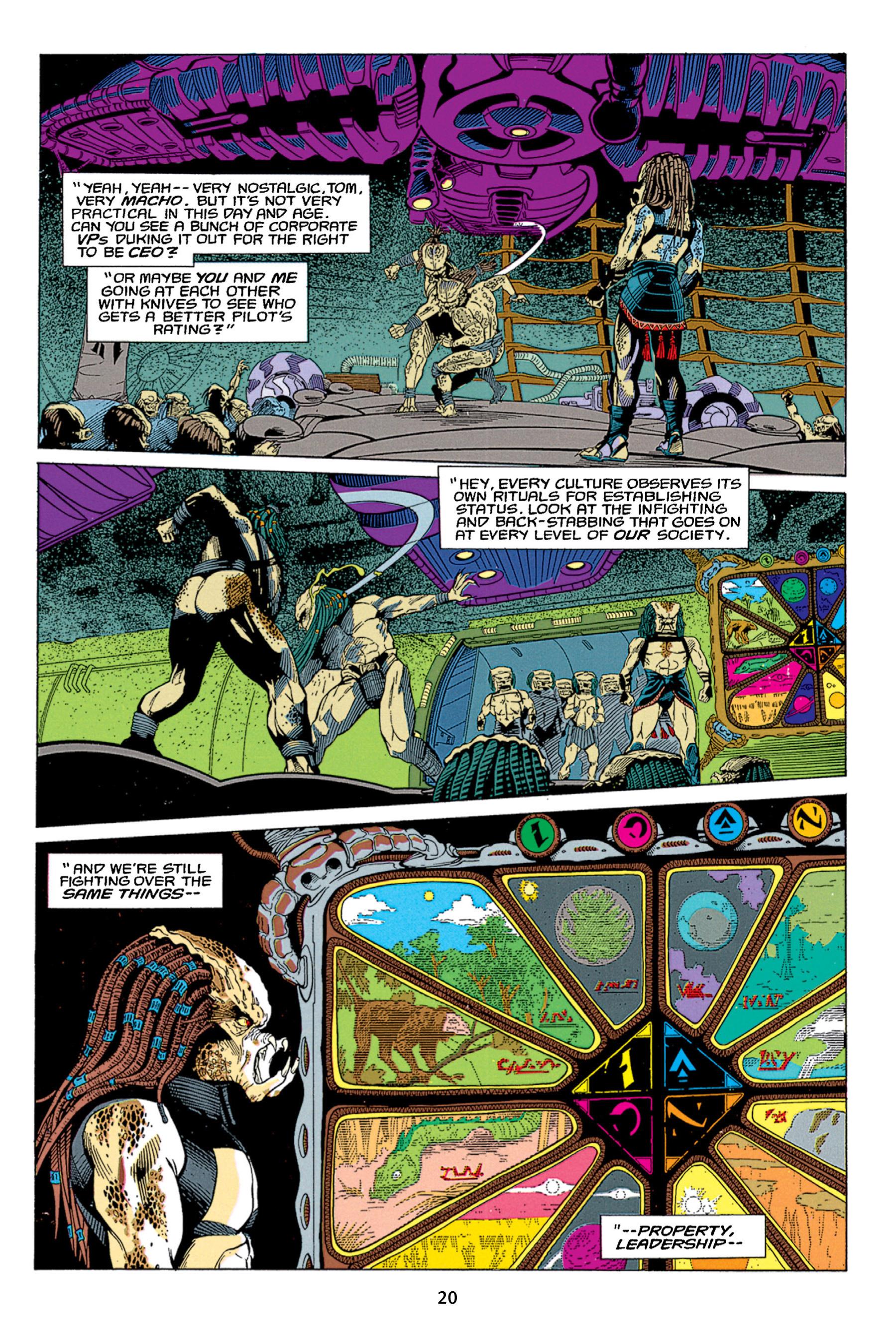 Read online Aliens vs. Predator Omnibus comic -  Issue # _TPB 1 Part 1 - 20