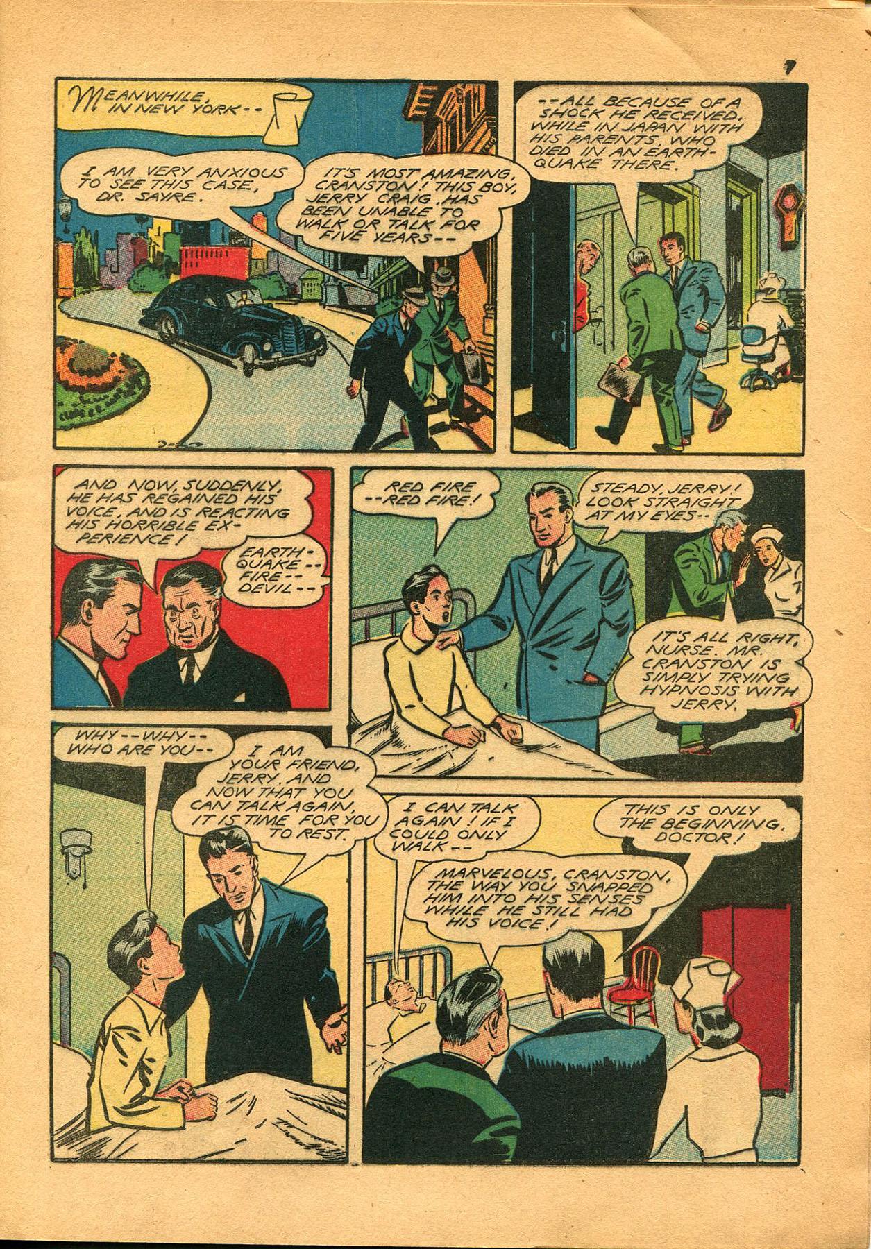 Read online Shadow Comics comic -  Issue #23 - 7