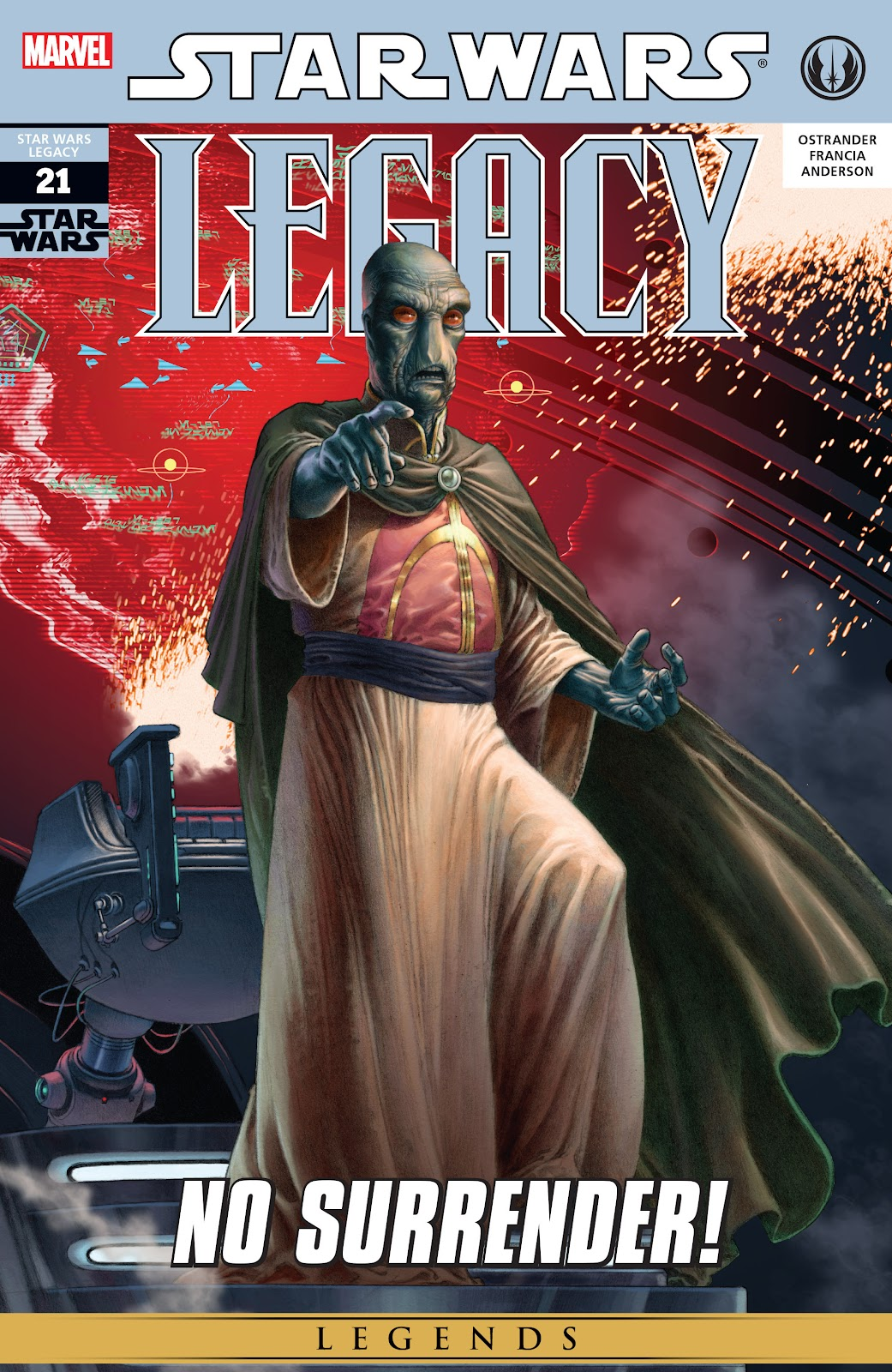 Read online Star Wars Legends: Legacy - Epic Collection comic -  Issue # TPB 2 (Part 1) - 29