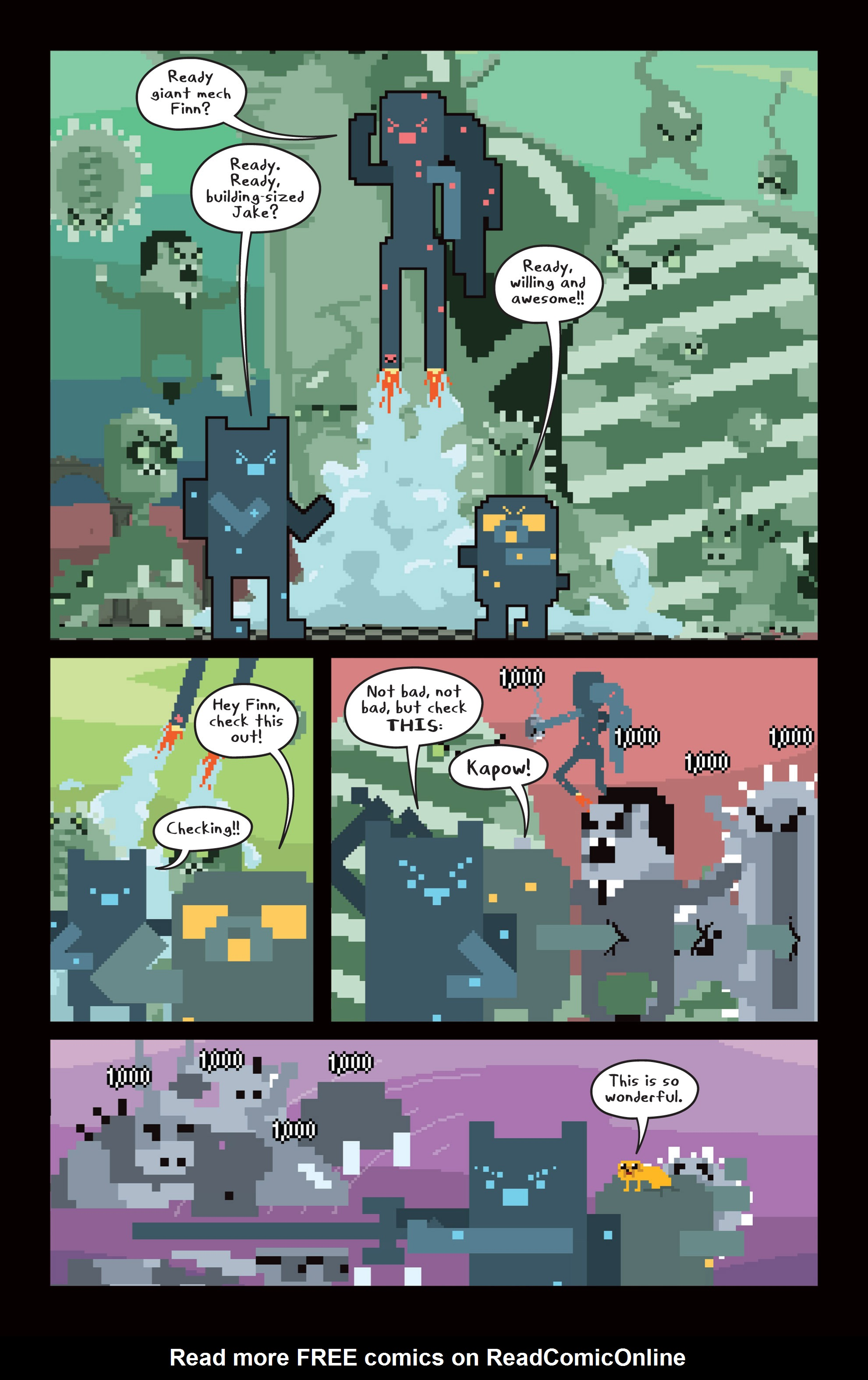 Read online Adventure Time comic -  Issue #14 - 16