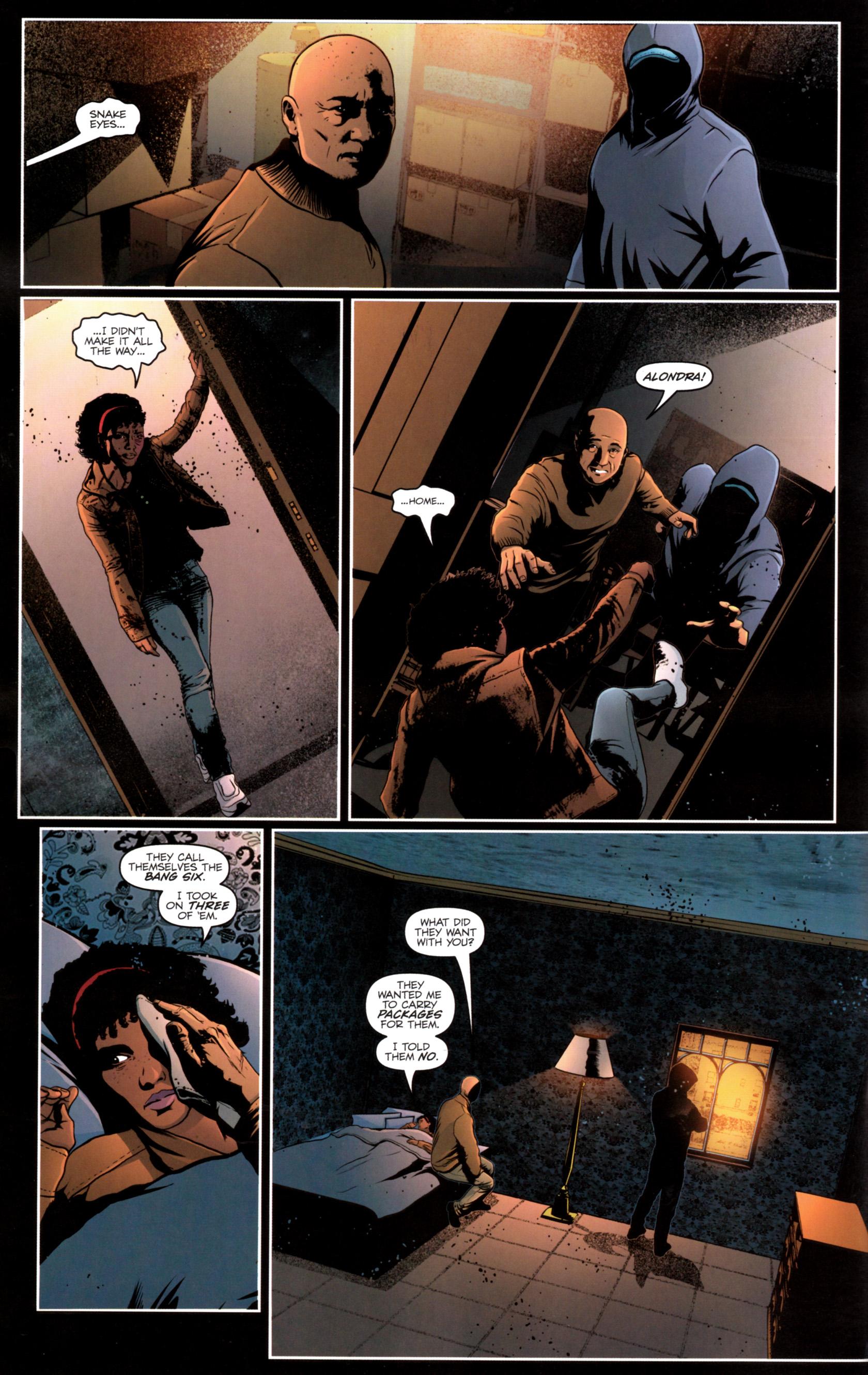 Read online G.I. Joe: Snake Eyes comic -  Issue #12 - 13