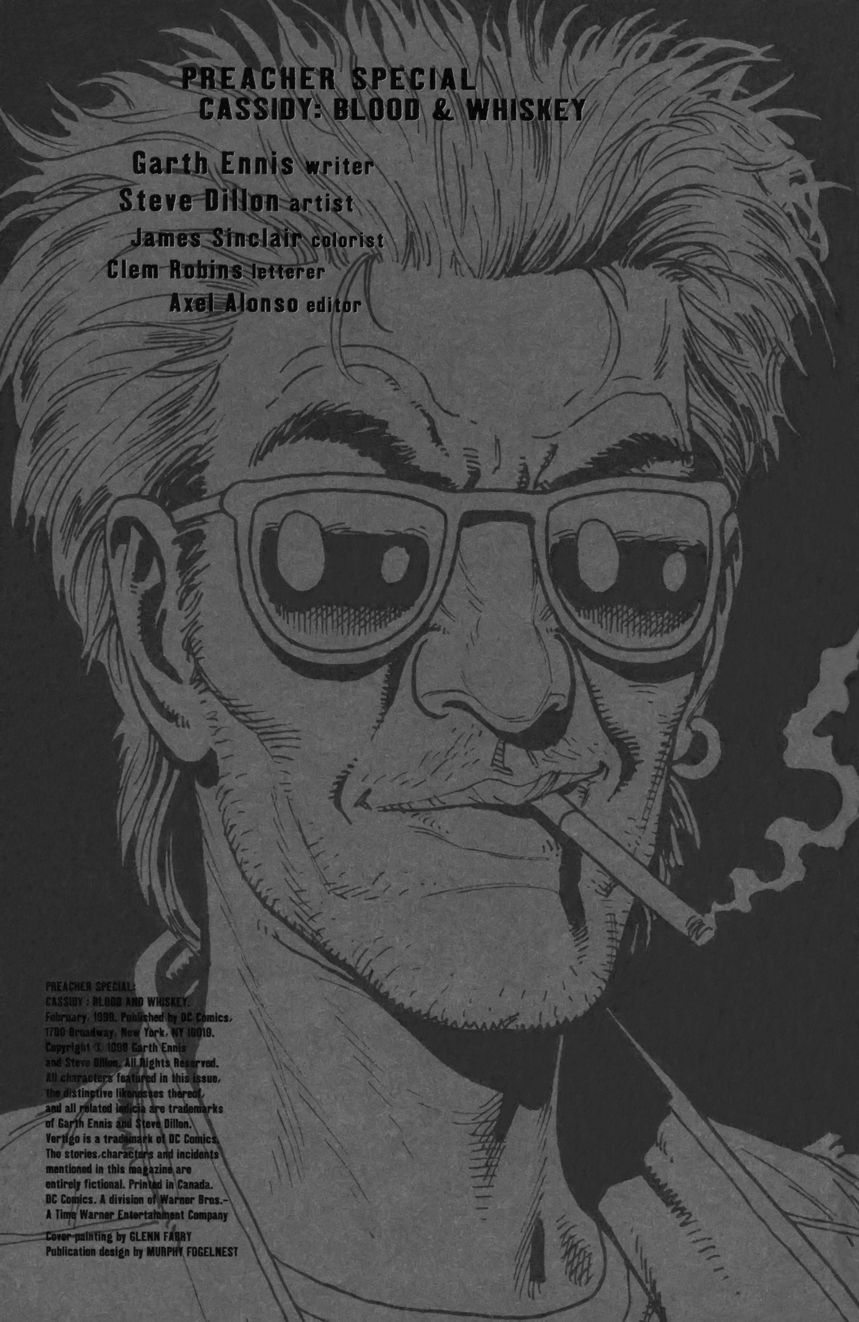 Read online Preacher Special: Cassidy : Blood and Whiskey comic -  Issue # Full - 2