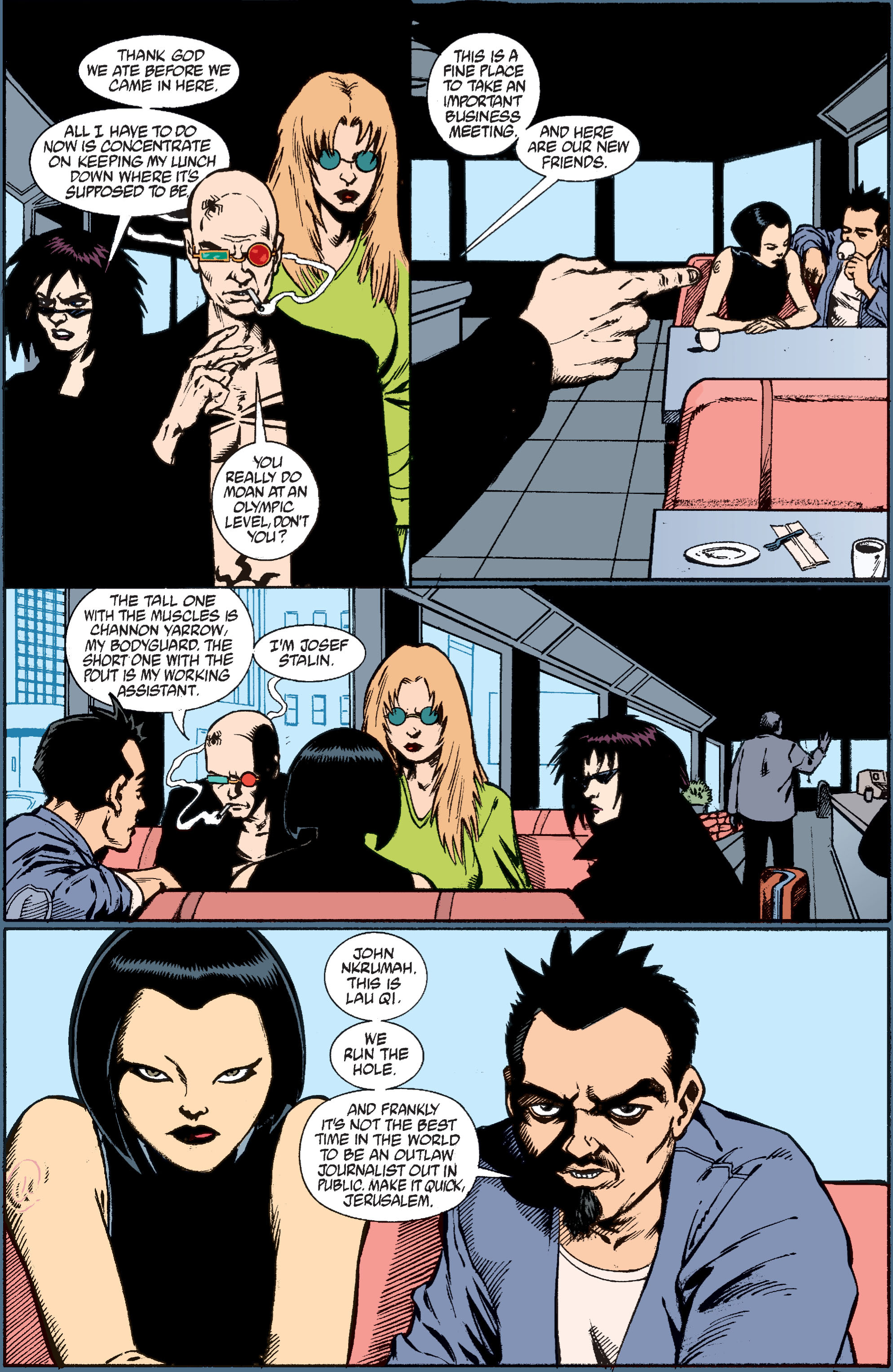 Read online Transmetropolitan comic -  Issue #37 - 15