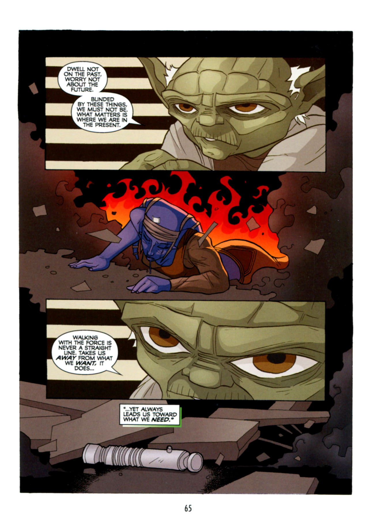 Read online Star Wars: The Clone Wars - Deadly Hands of Shon-Ju comic -  Issue # Full - 66