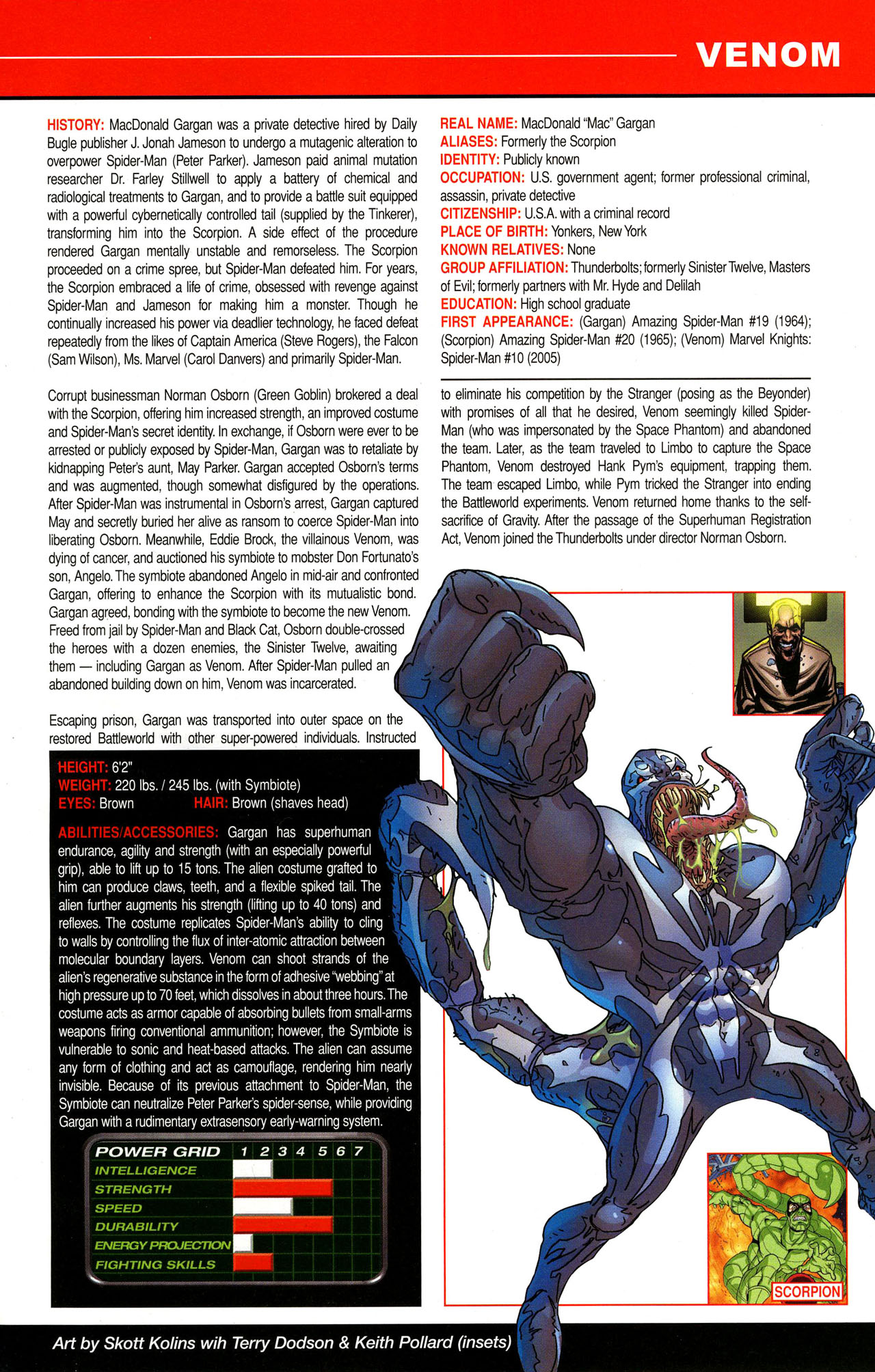 Read online All-New Official Handbook of the Marvel Universe A to Z comic -  Issue #12 - 17