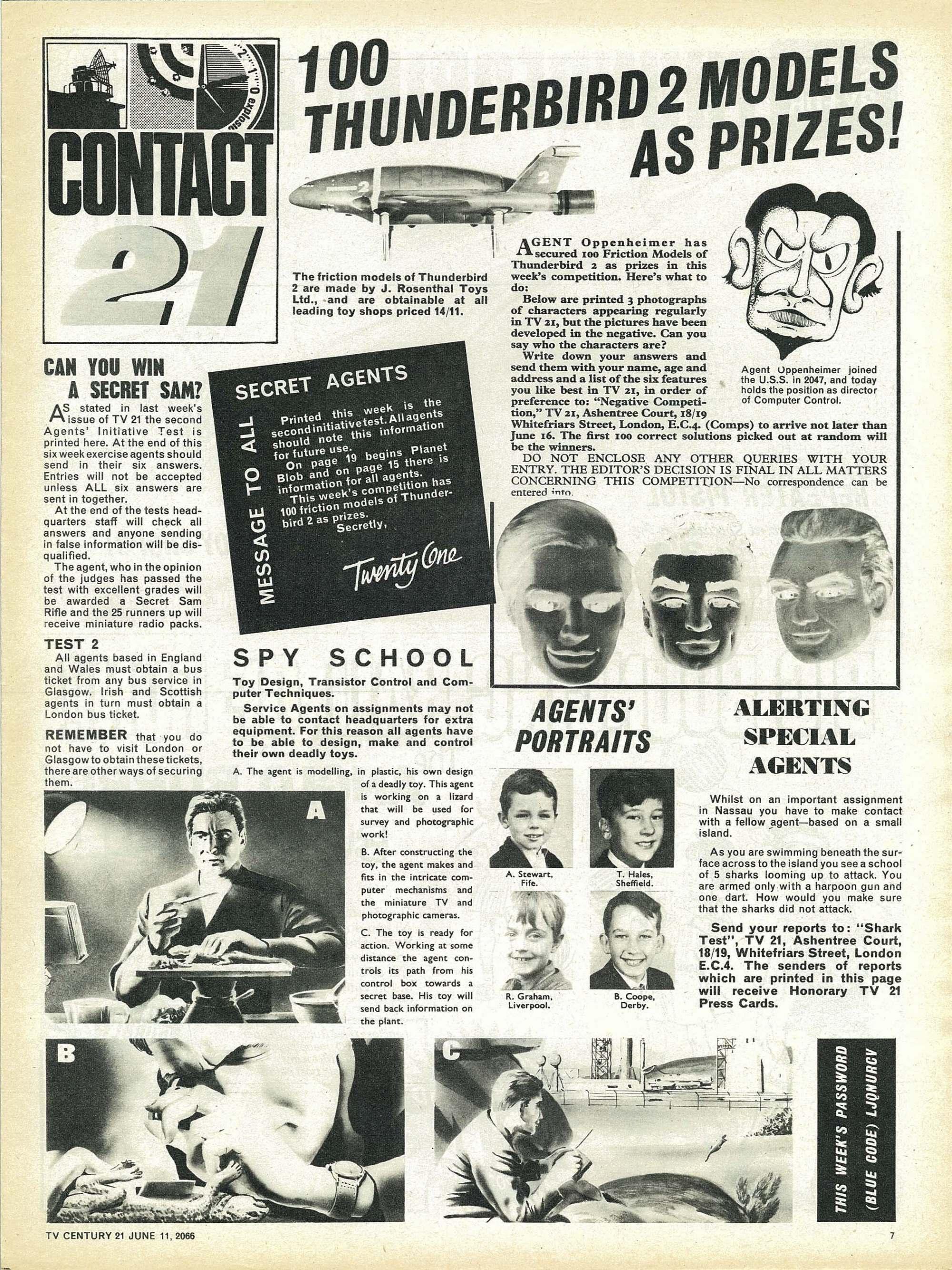 Read online TV Century 21 (TV 21) comic -  Issue #73 - 7