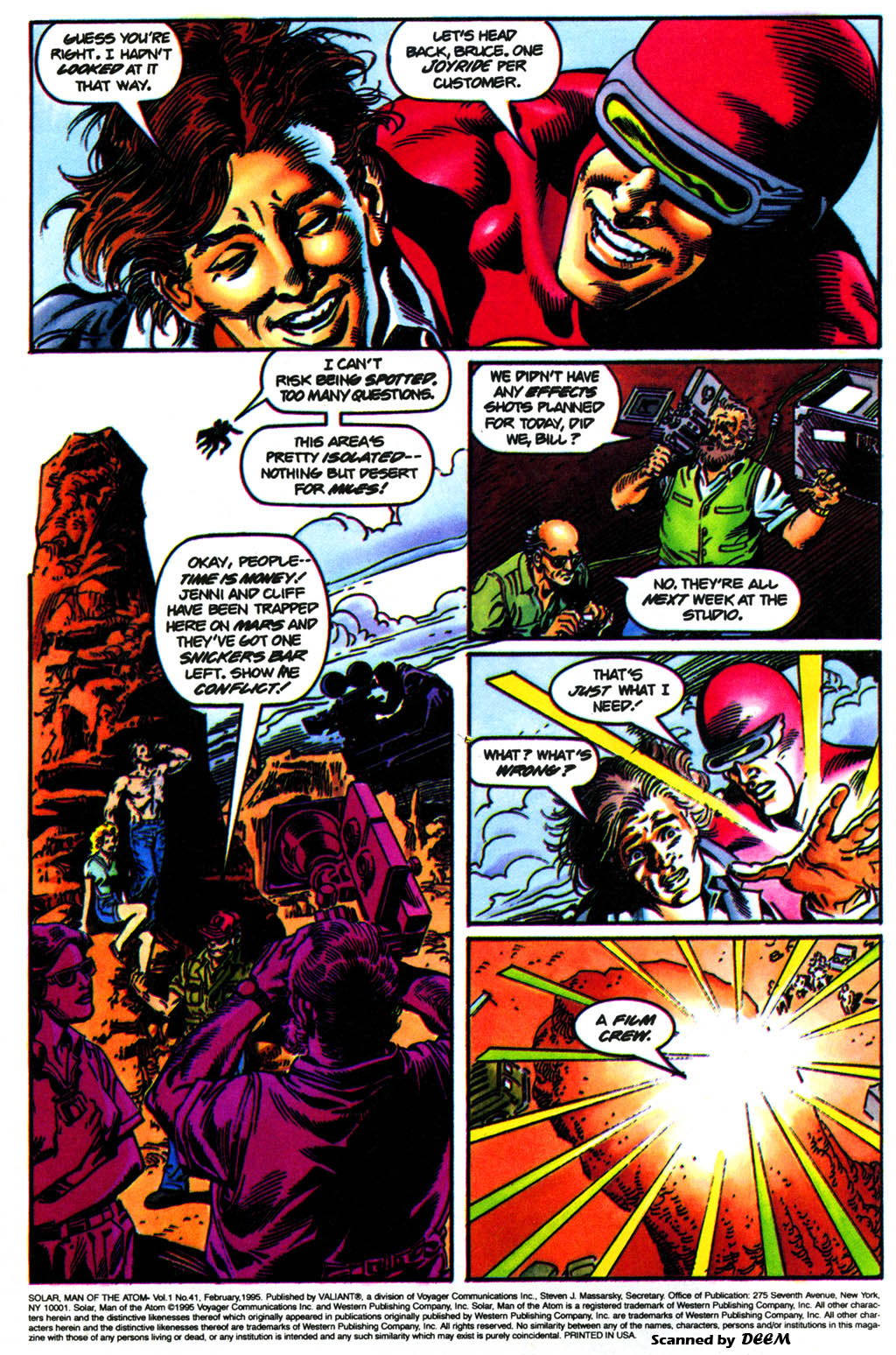 Read online Solar, Man of the Atom comic -  Issue #41 - 3