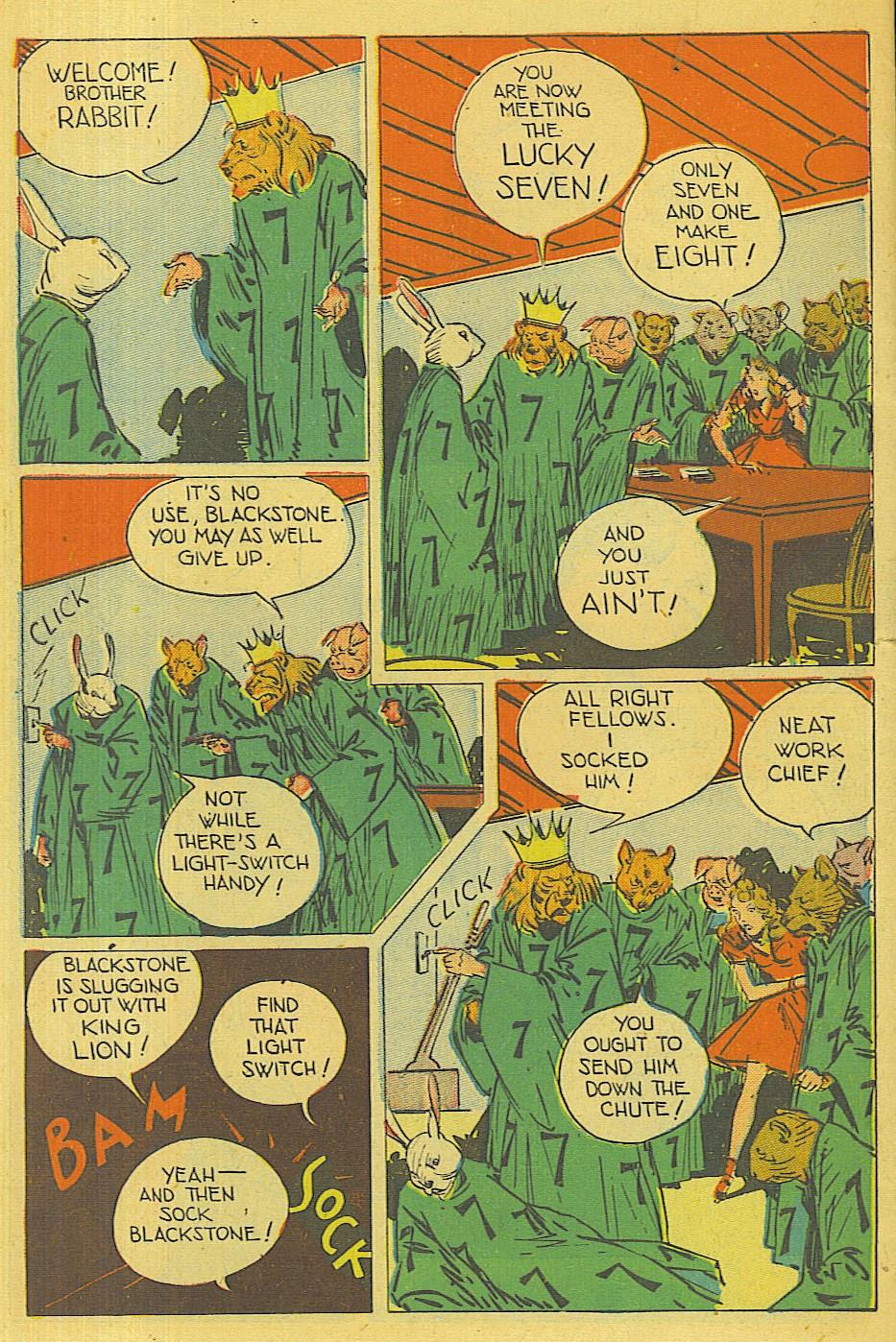Read online Super-Magician Comics comic -  Issue #42 - 47