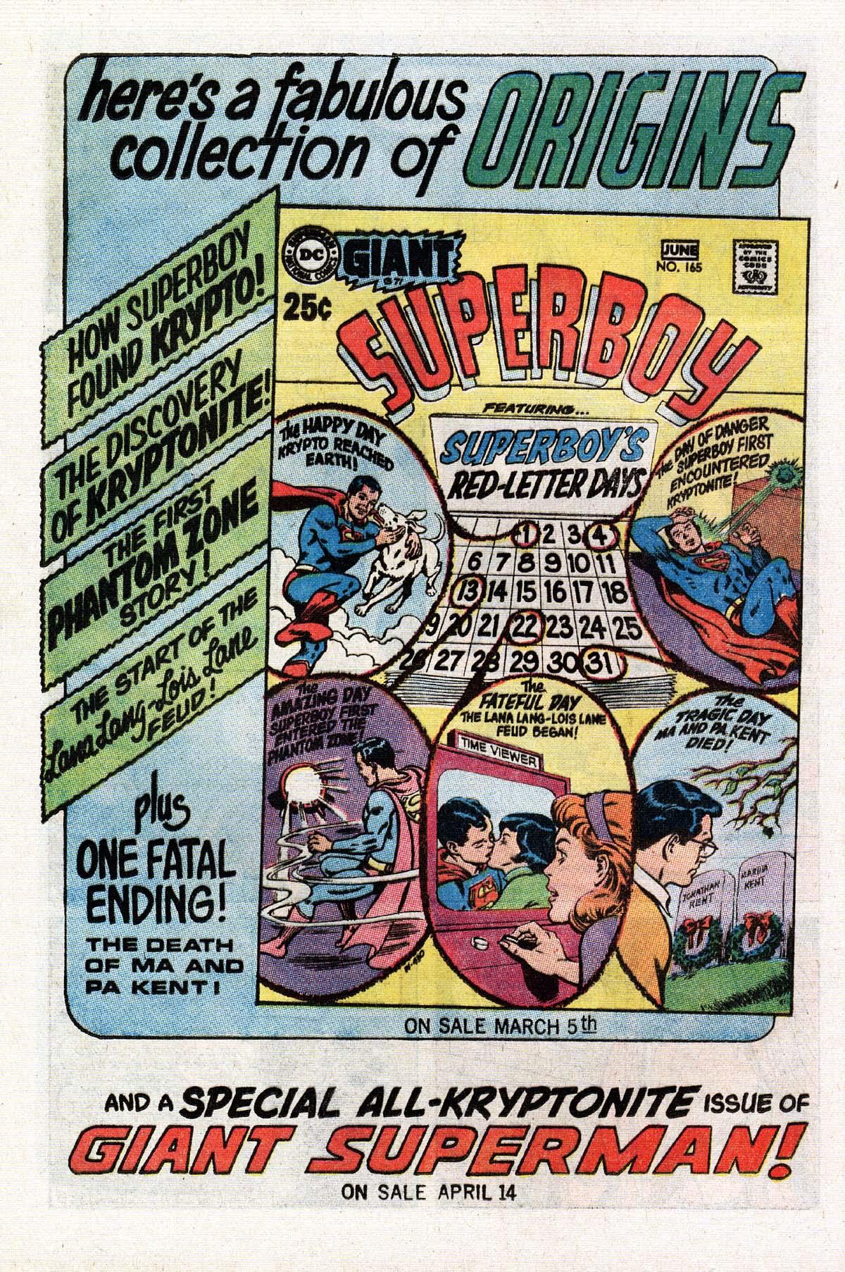 Read online Adventure Comics (1938) comic -  Issue #393 - 12