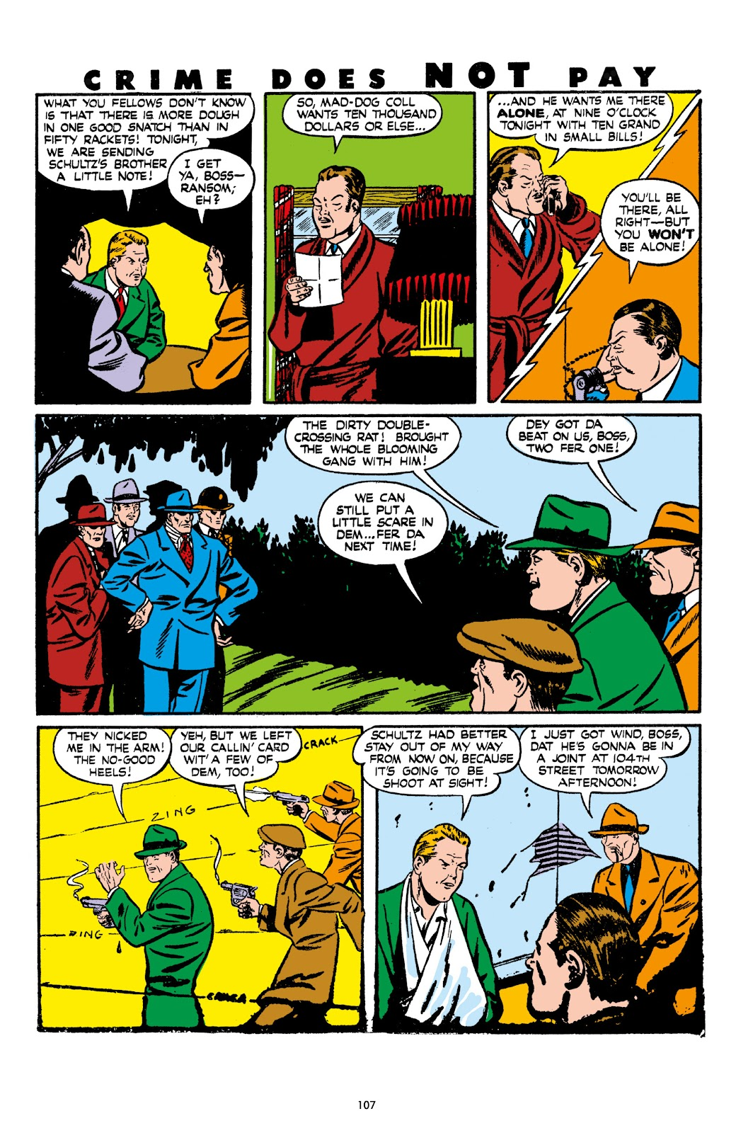 Read online Crime Does Not Pay Archives comic -  Issue # TPB 7 (Part 2) - 9