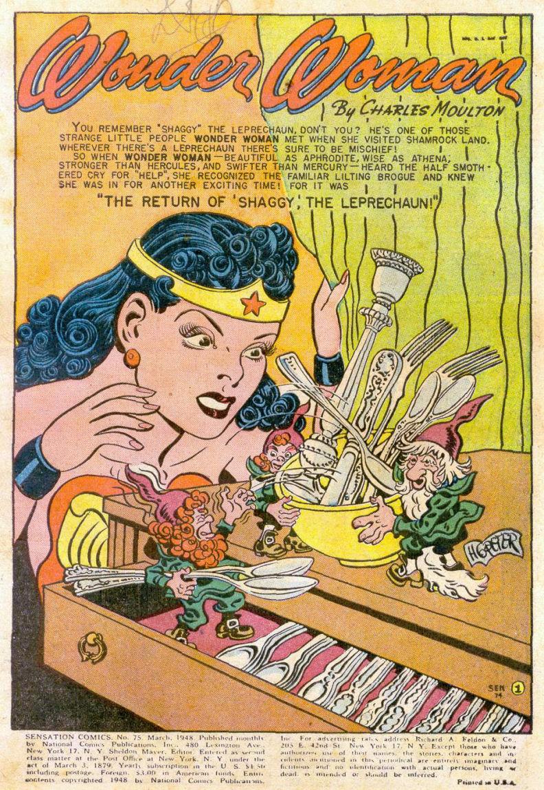 Read online Sensation (Mystery) Comics comic -  Issue #75 - 2