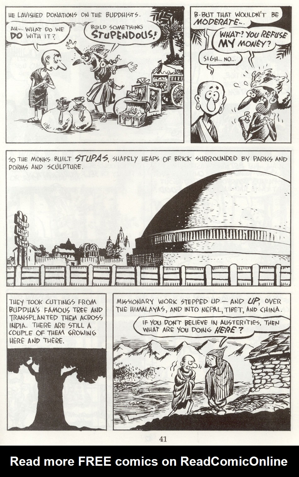 Read online The Cartoon History of the Universe comic -  Issue #8 - 44