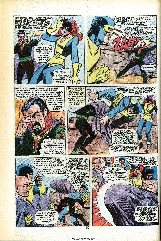 Read online Uncanny X-Men (1963) comic -  Issue #78 - 32