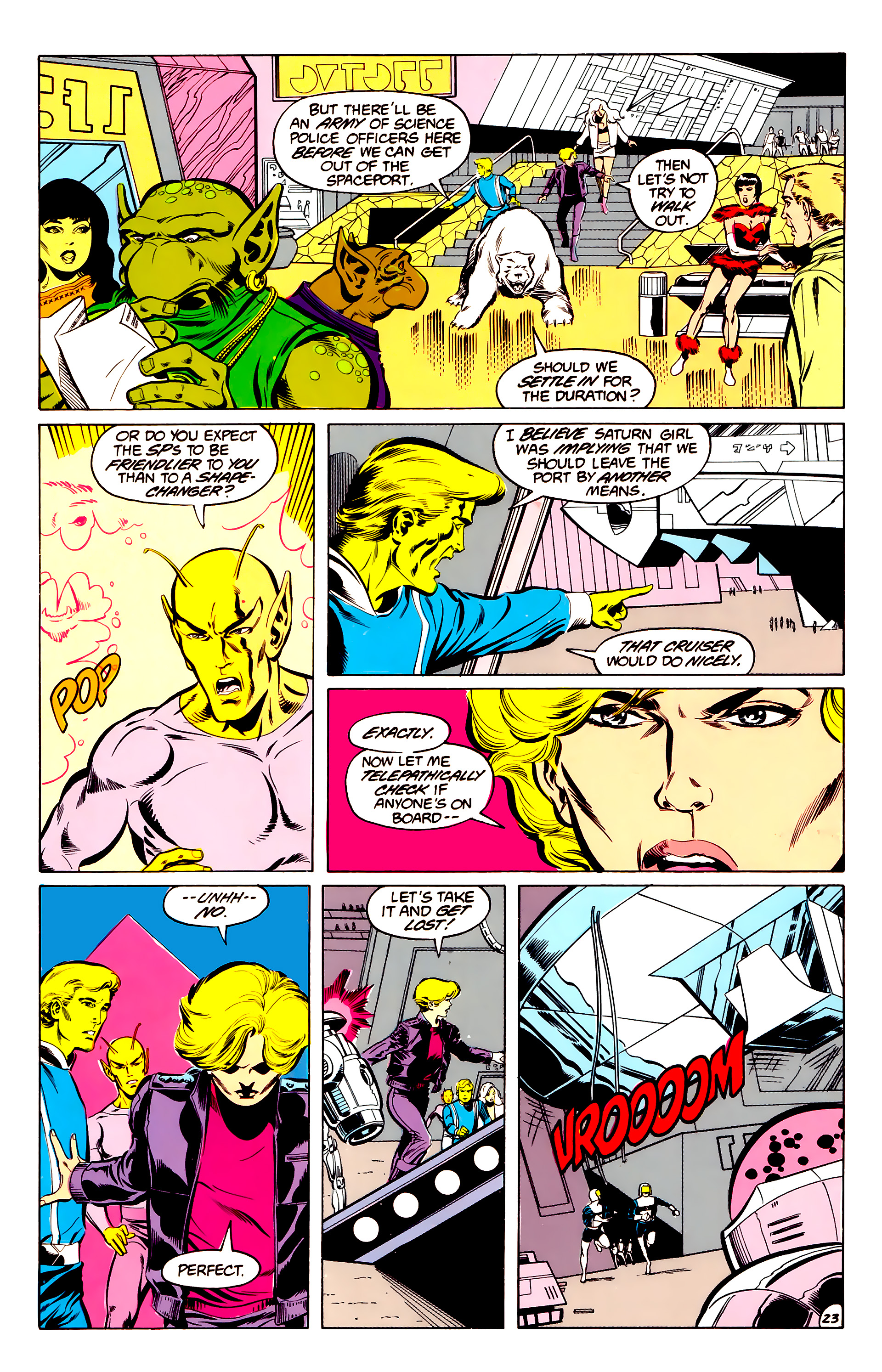 Legion of Super-Heroes (1984) 34 Page 23