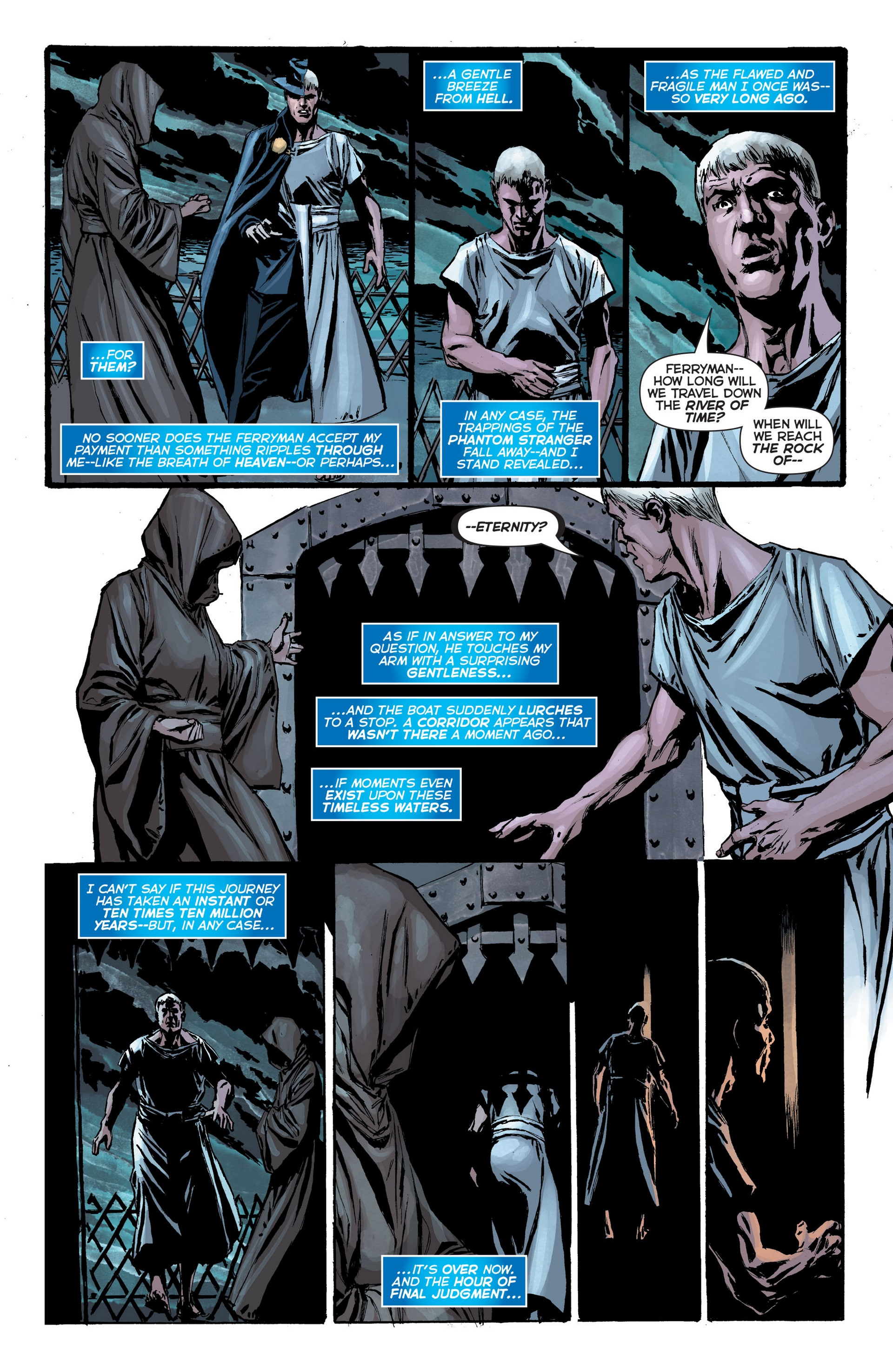 Read online Trinity of Sin: The Phantom Stranger: Futures End comic -  Issue # Full - 4