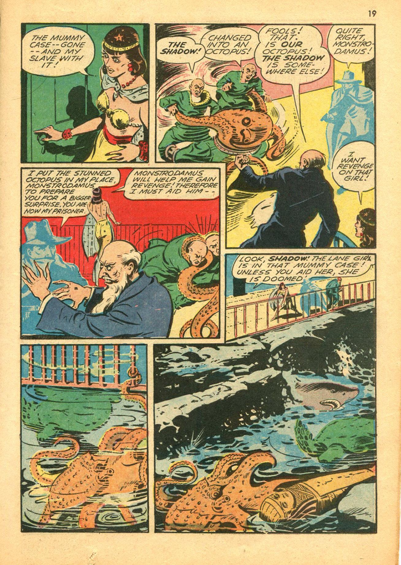 Read online Shadow Comics comic -  Issue #30 - 19