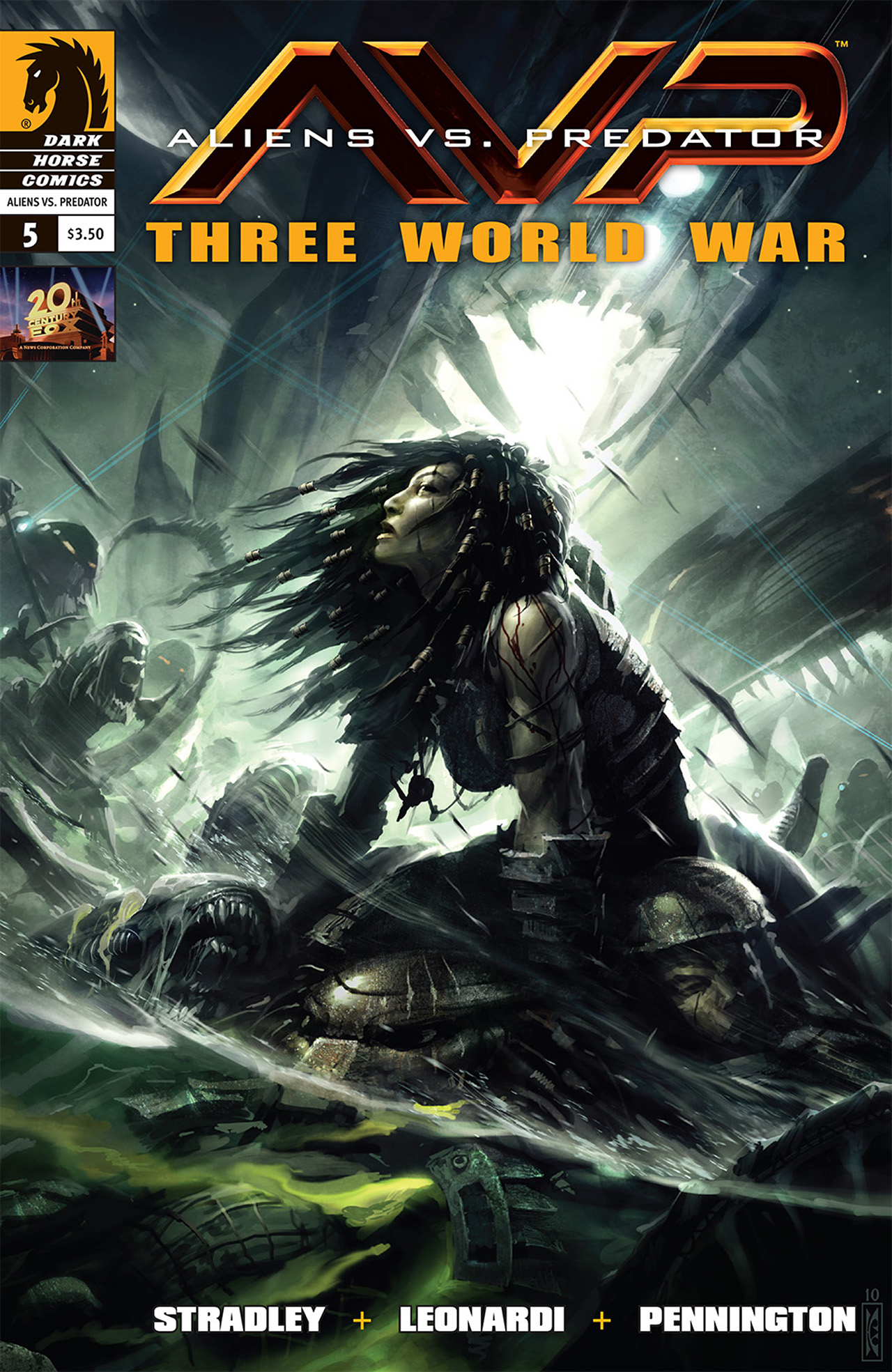 Read online Aliens vs. Predator: Three World War comic -  Issue #5 - 1