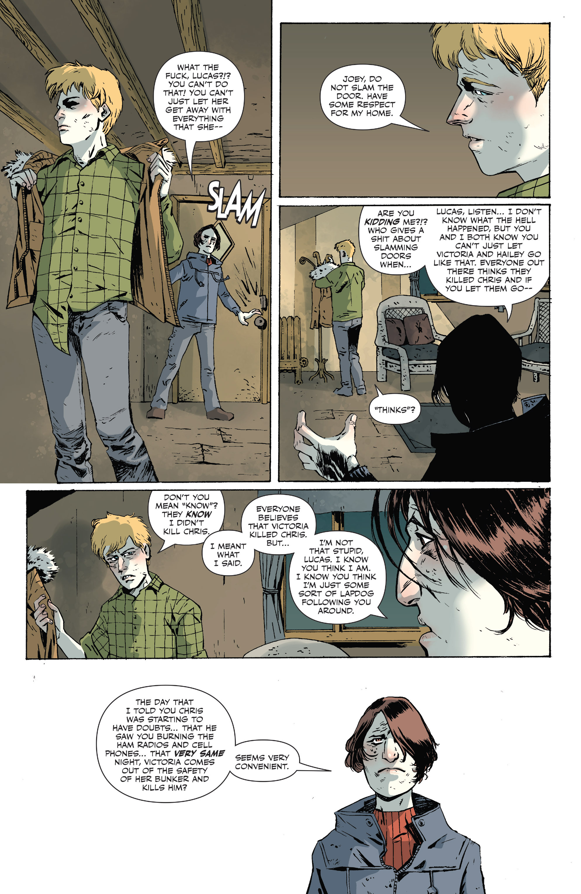 Read online Sheltered comic -  Issue #10 - 7