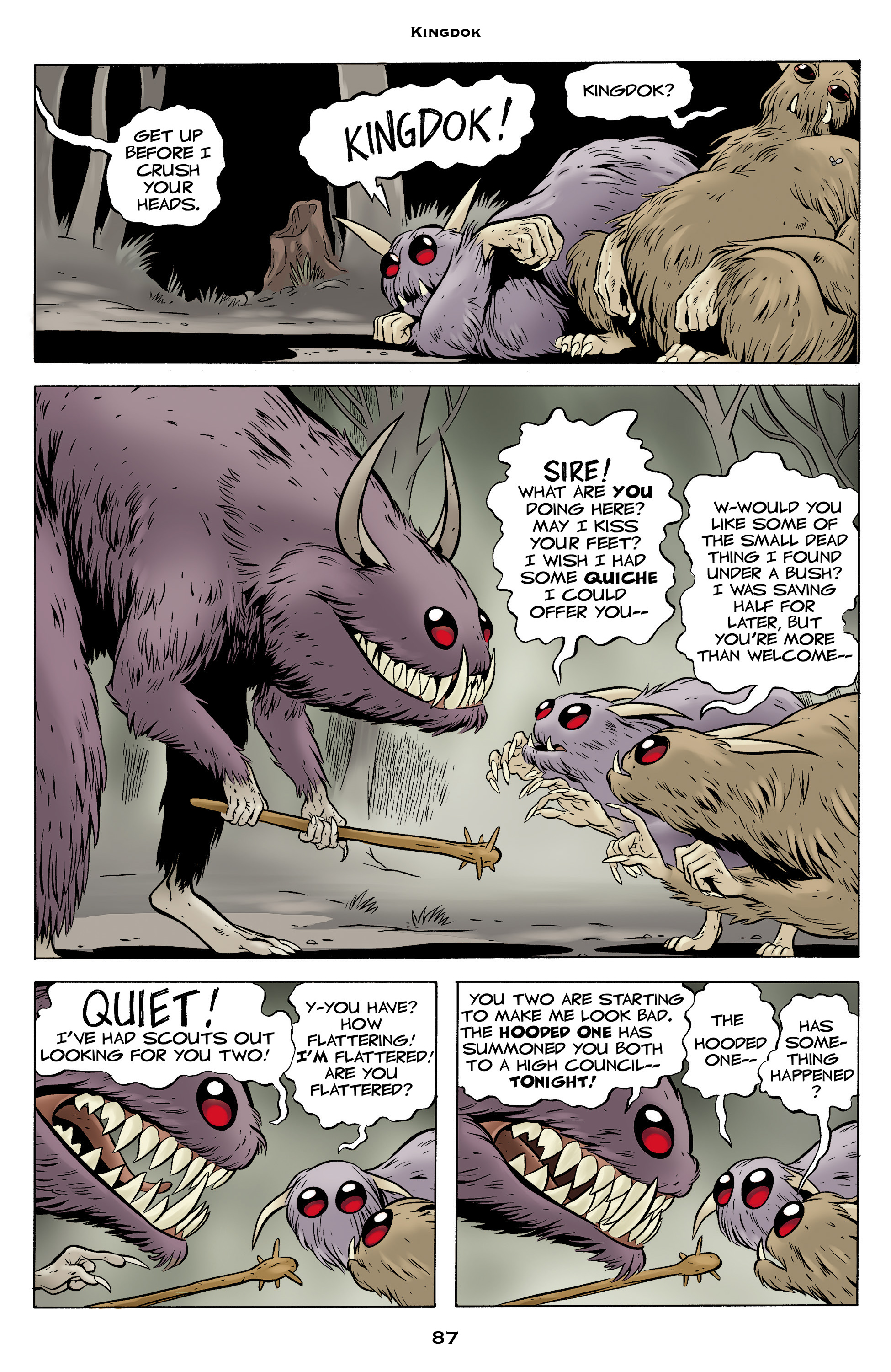 Read online Bone: Out From Boneville comic -  Issue # TPB - 87