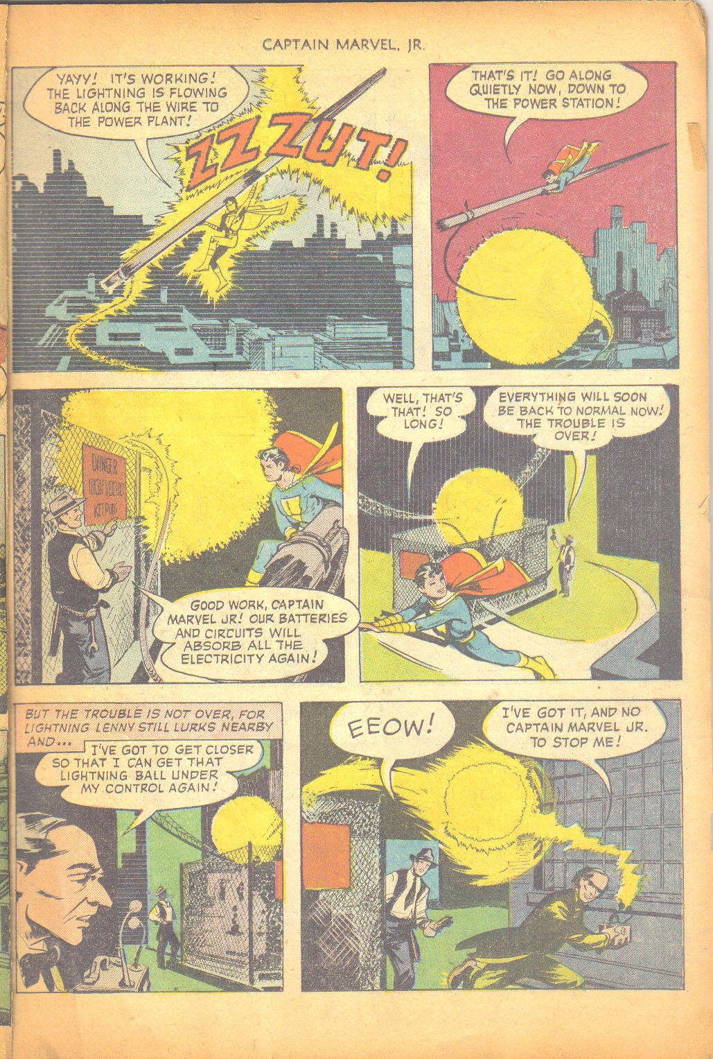 Captain Marvel, Jr. issue 95 - Page 10