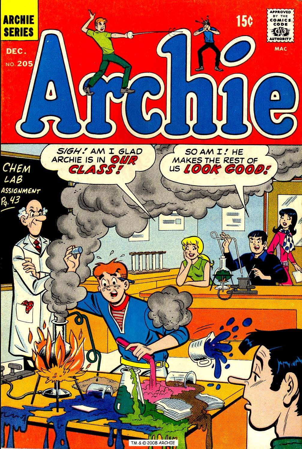 Read online Archie (1960) comic -  Issue #205 - 1