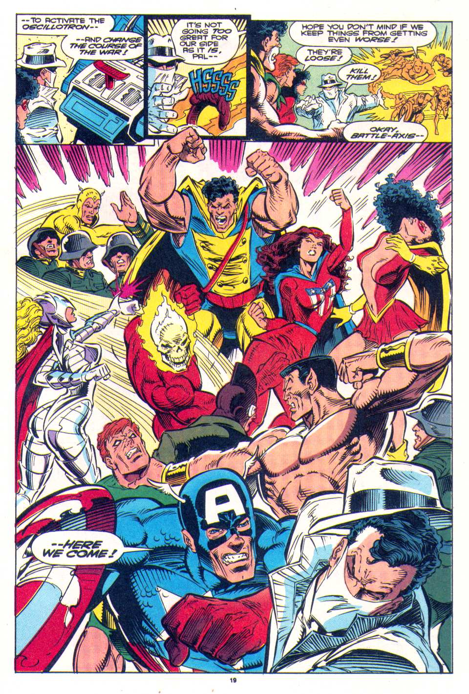 Read online The Invaders (1993) comic -  Issue #4 - 17