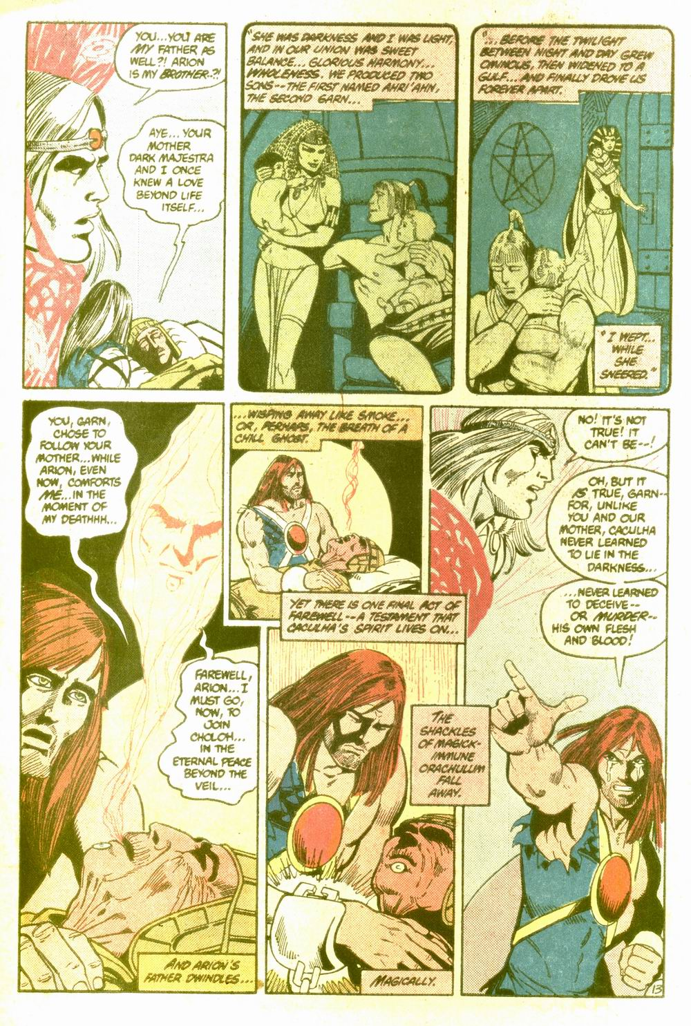 Read online Arion, Lord of Atlantis comic -  Issue #5 - 14
