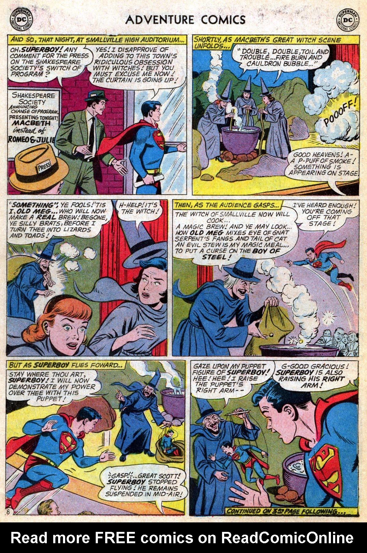 Read online Adventure Comics (1938) comic -  Issue #286 - 10