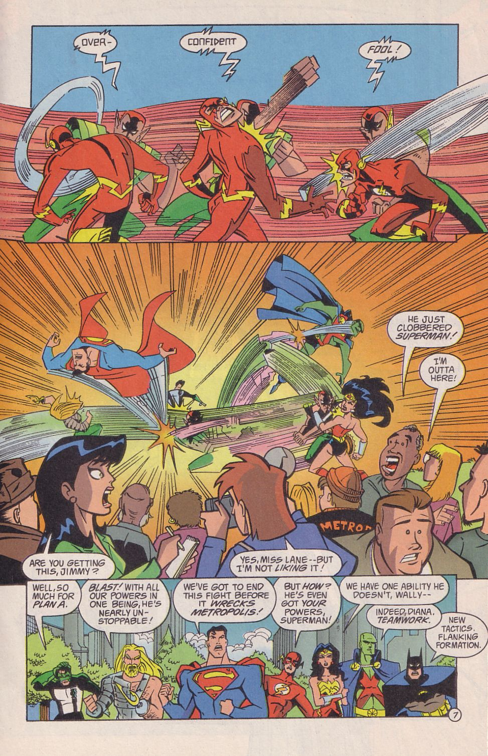 Read online Adventures in the DC Universe comic -  Issue #18 - 8