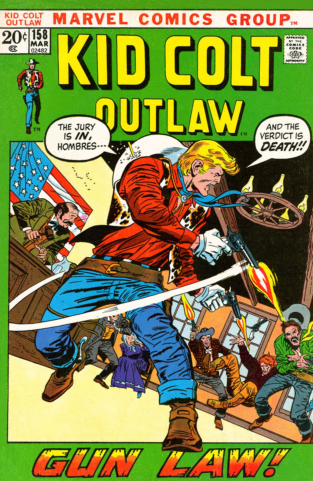 Kid Colt Outlaw issue 158 - Page 1