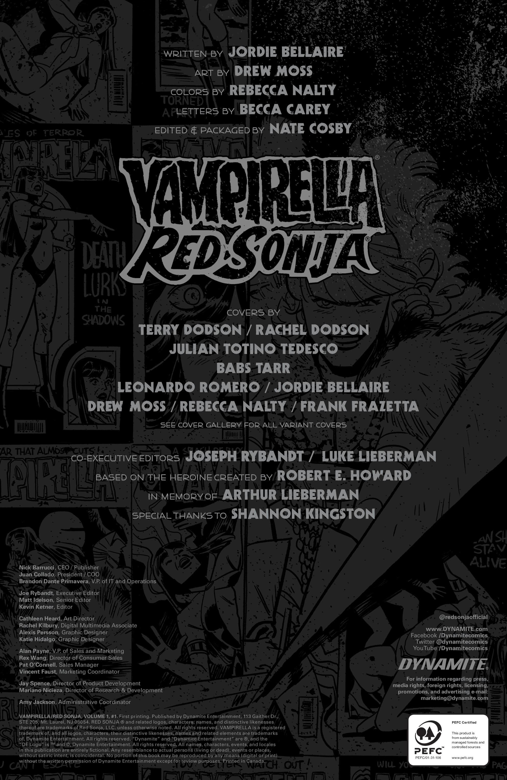 Vampirella/Red Sonja #1 #1 - English 27