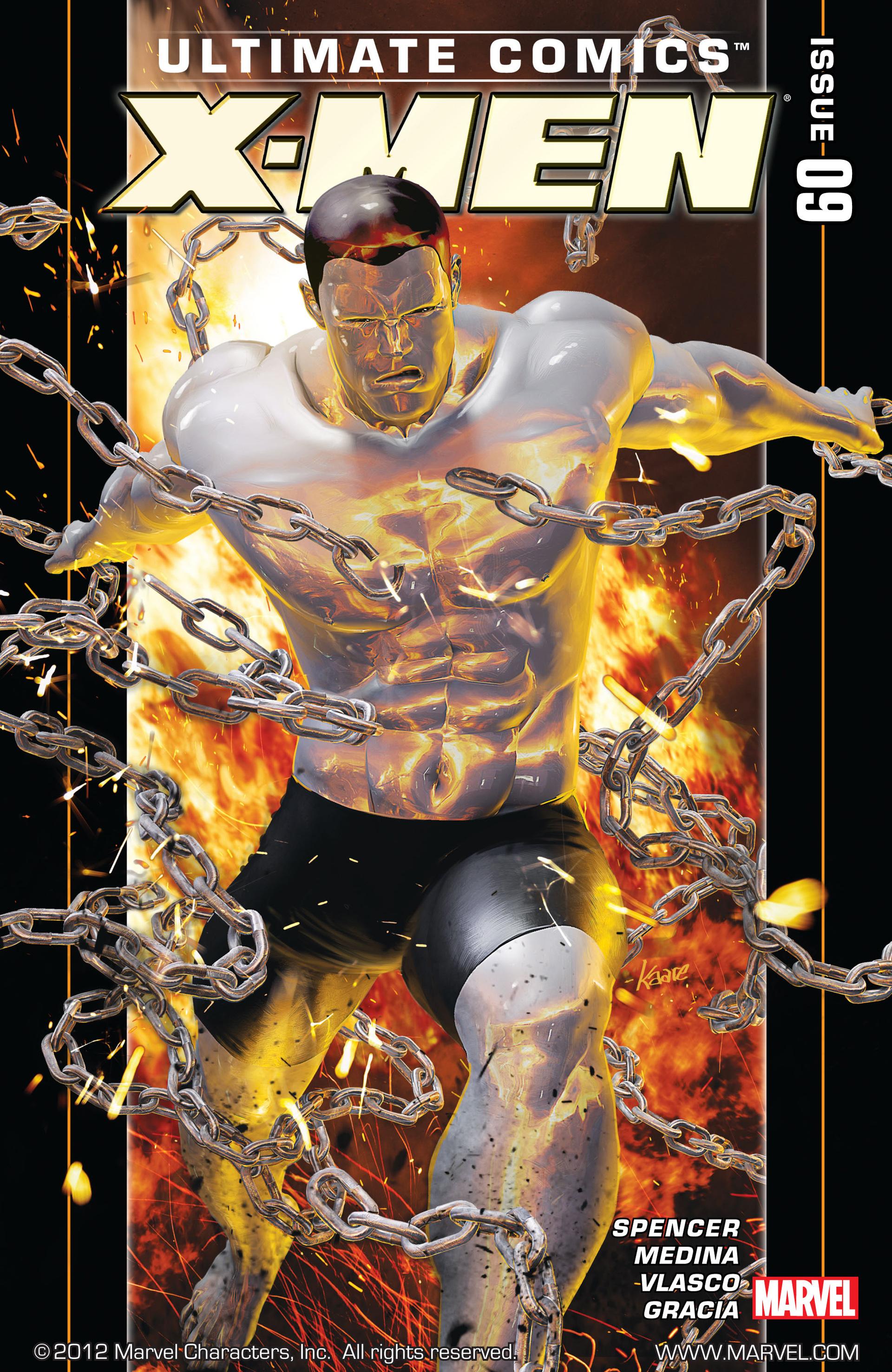 Read online Ultimate Comics X-Men comic -  Issue #9 - 1