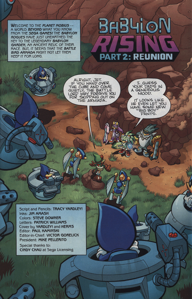 Read online Sonic Universe comic -  Issue #34 - 3