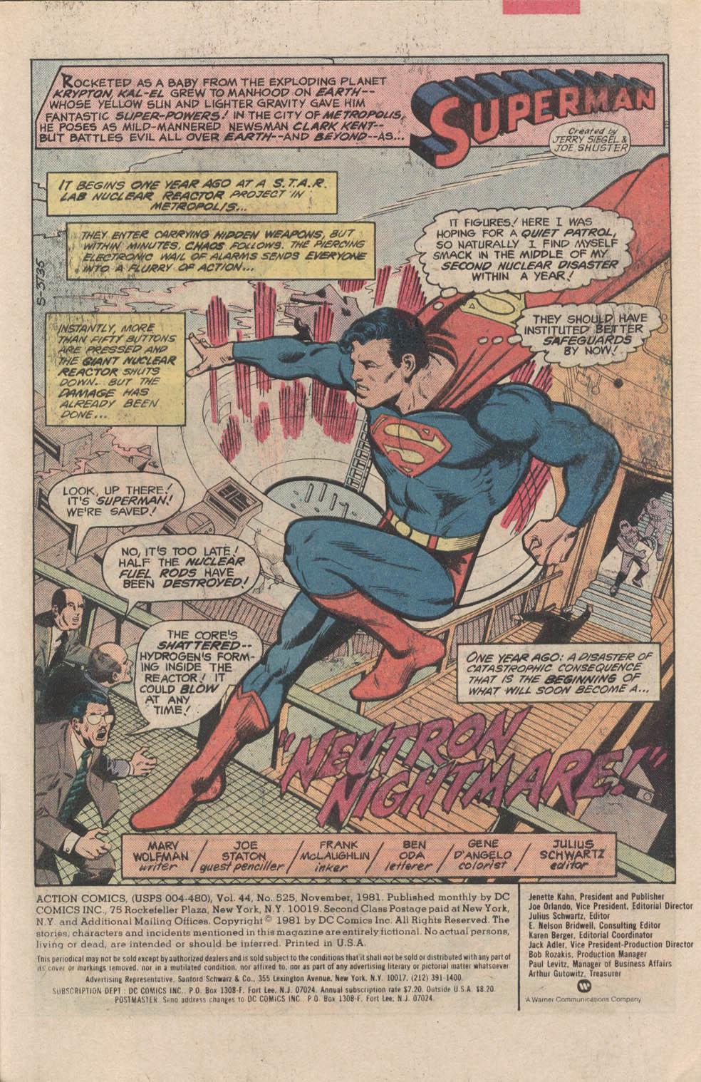 Action Comics (1938) 525 Page 2