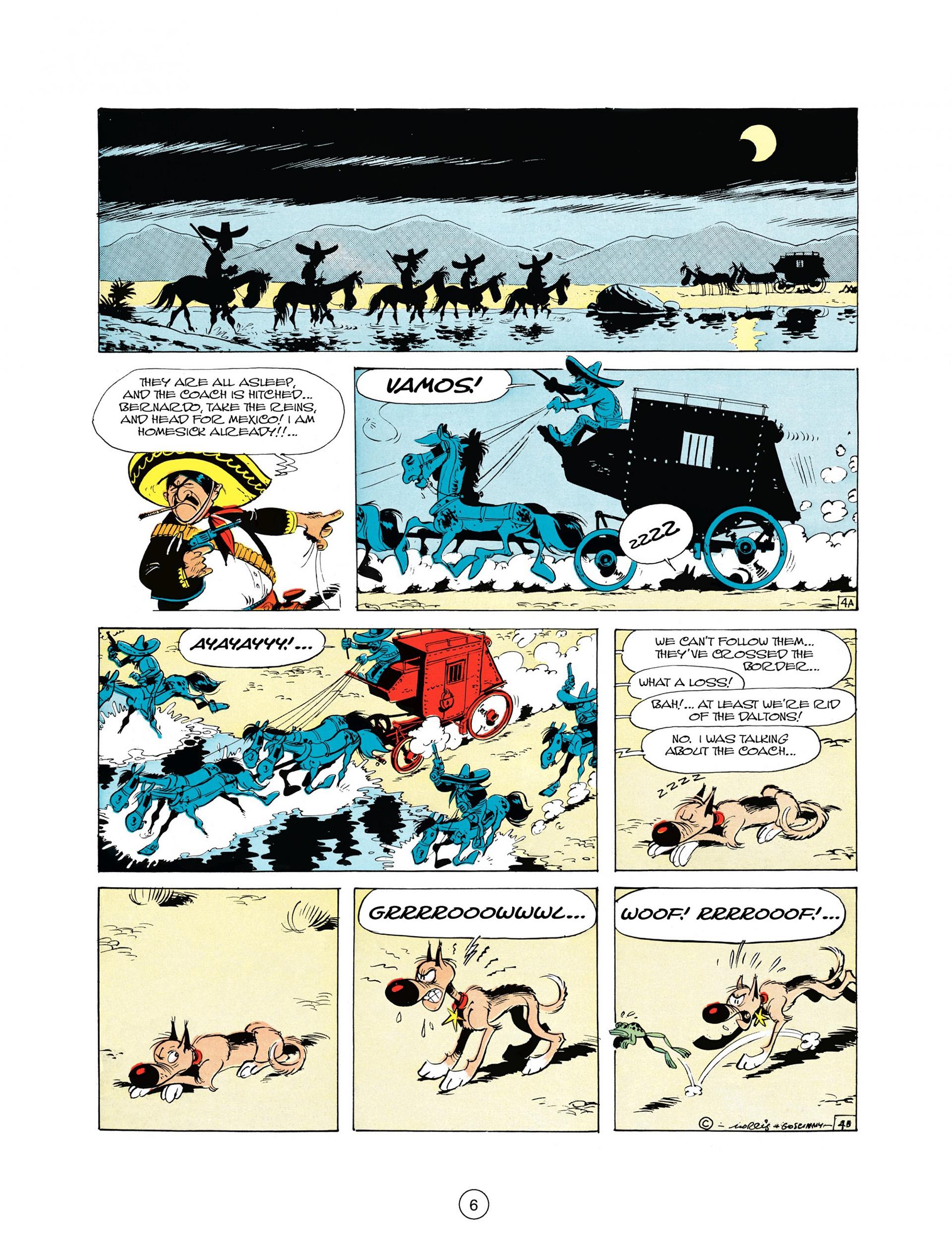 Read online A Lucky Luke Adventure comic -  Issue #10 - 6